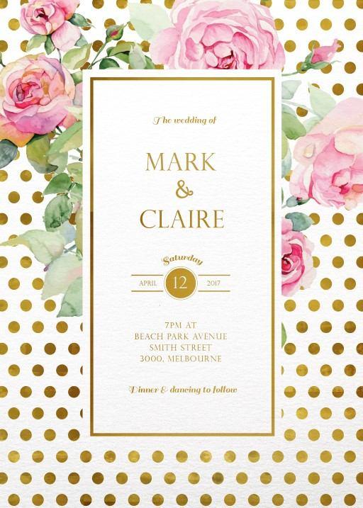 Geometric Wedding Invitations, Wedding Invites  Cards