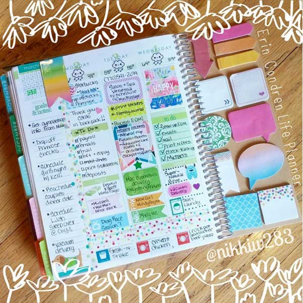 12 Super Fun Dashboard Ideas For Your Planner Paperly People