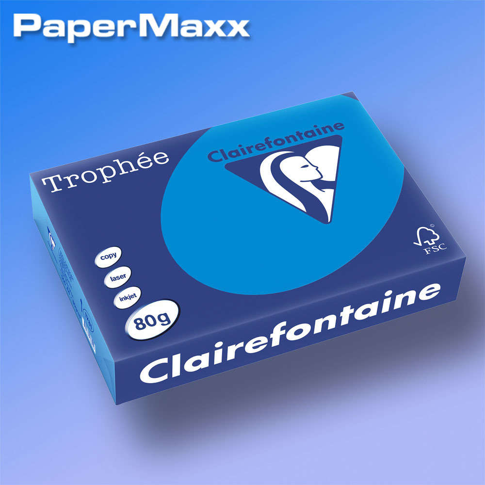 Farbiges Druckerpapier Farbiges Papier Clairefontaine Trophée Color A4 80g Intensiv