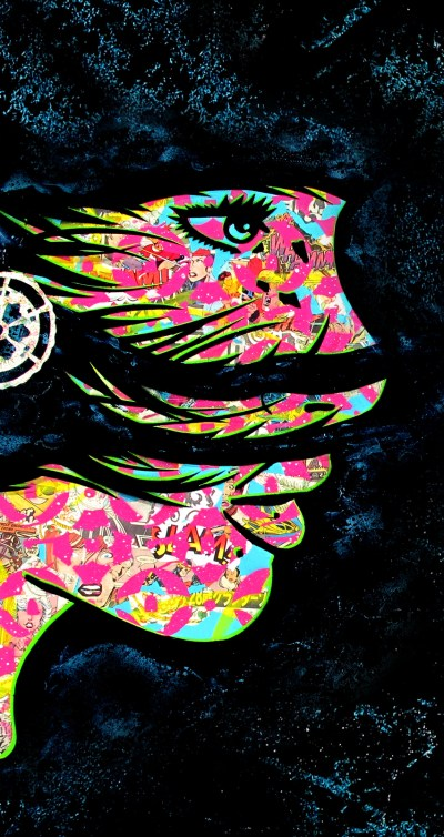 free iphone wallpapers | PaperMonster Stencil Graffiti Artist