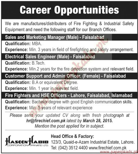 Sales and Marketing Manager, Electrical Sales Engineer, Customer - sales engineer job description