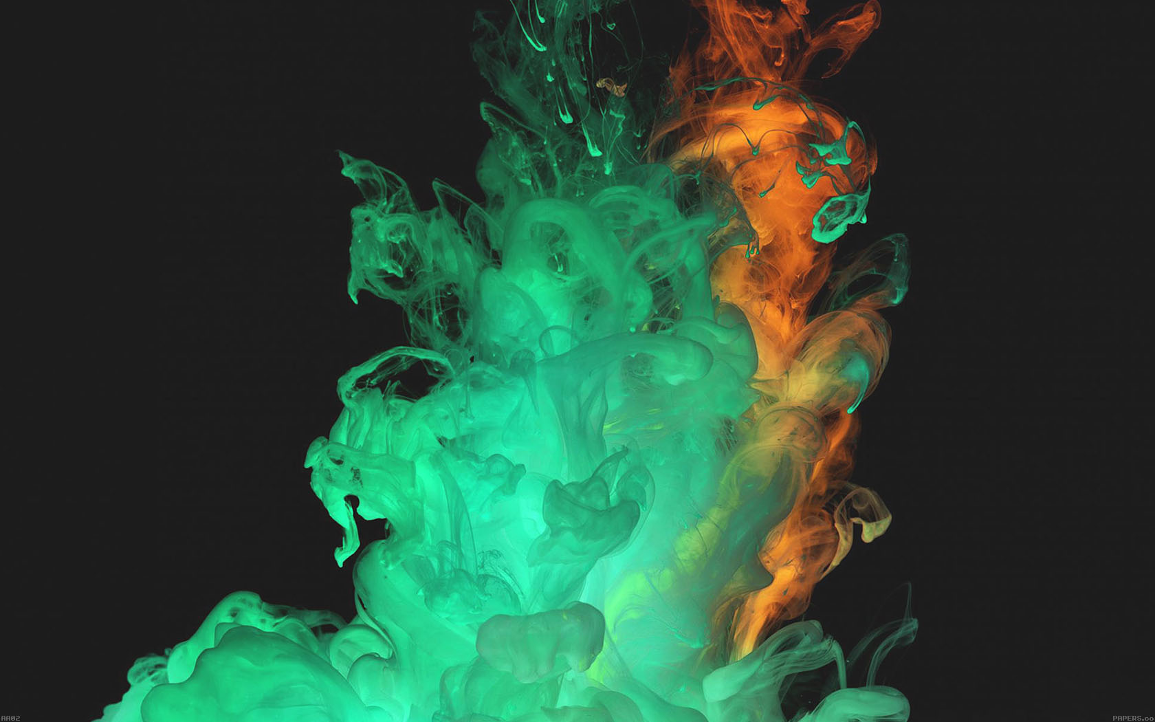 Cute Red Wallpaper For Iphone Aa02 Red Green Smoke Art Texture Wallpaper