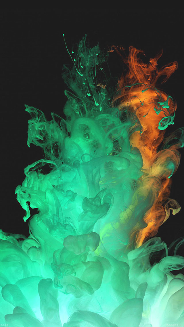 Car Hd Wallpaper For Iphone Aa02 Red Green Smoke Art Texture Wallpaper