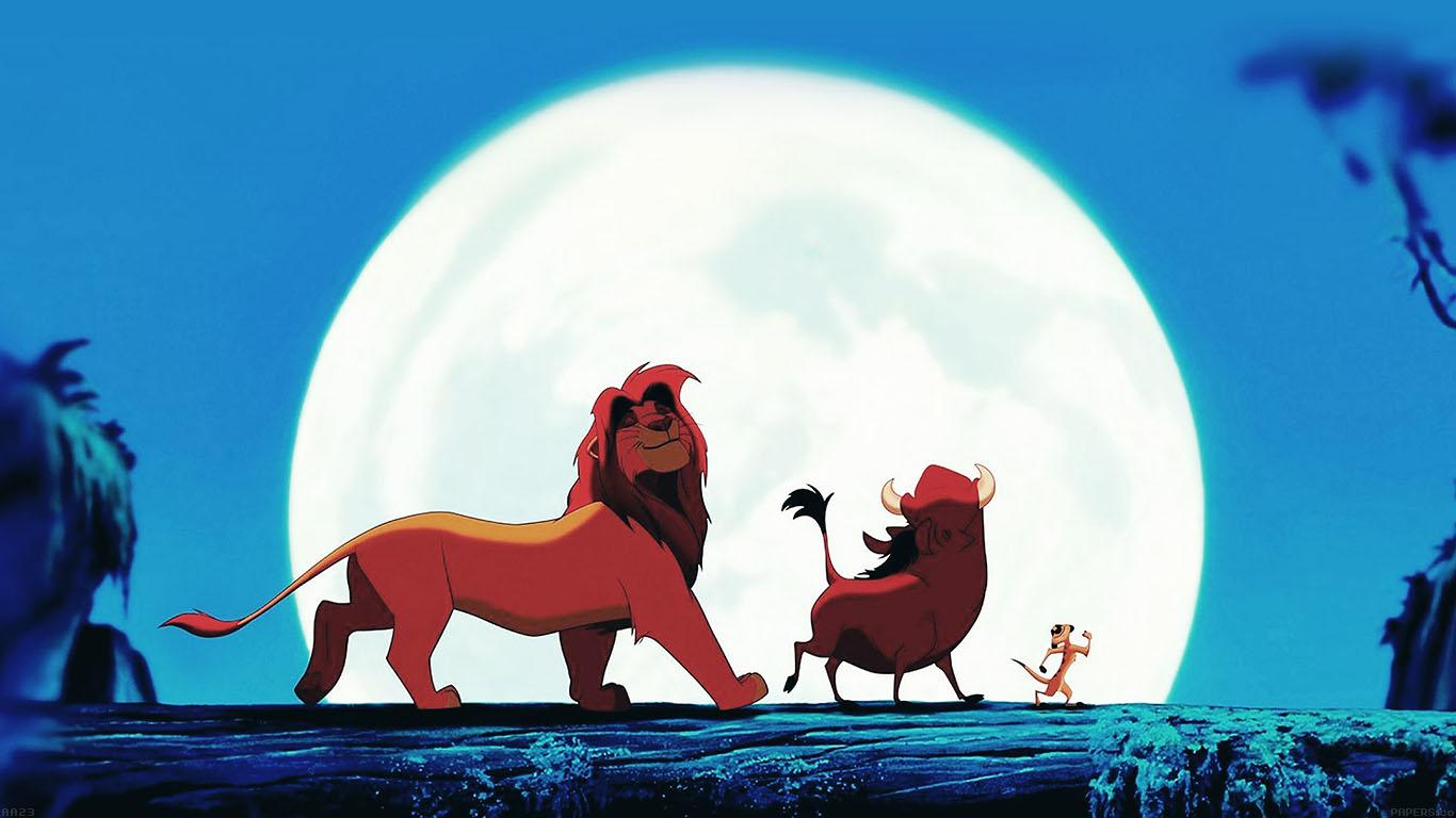 Cute Disney Ipad Wallpaper Aa23 Hakuna Matata Disney Lionking Illust Art Papers Co