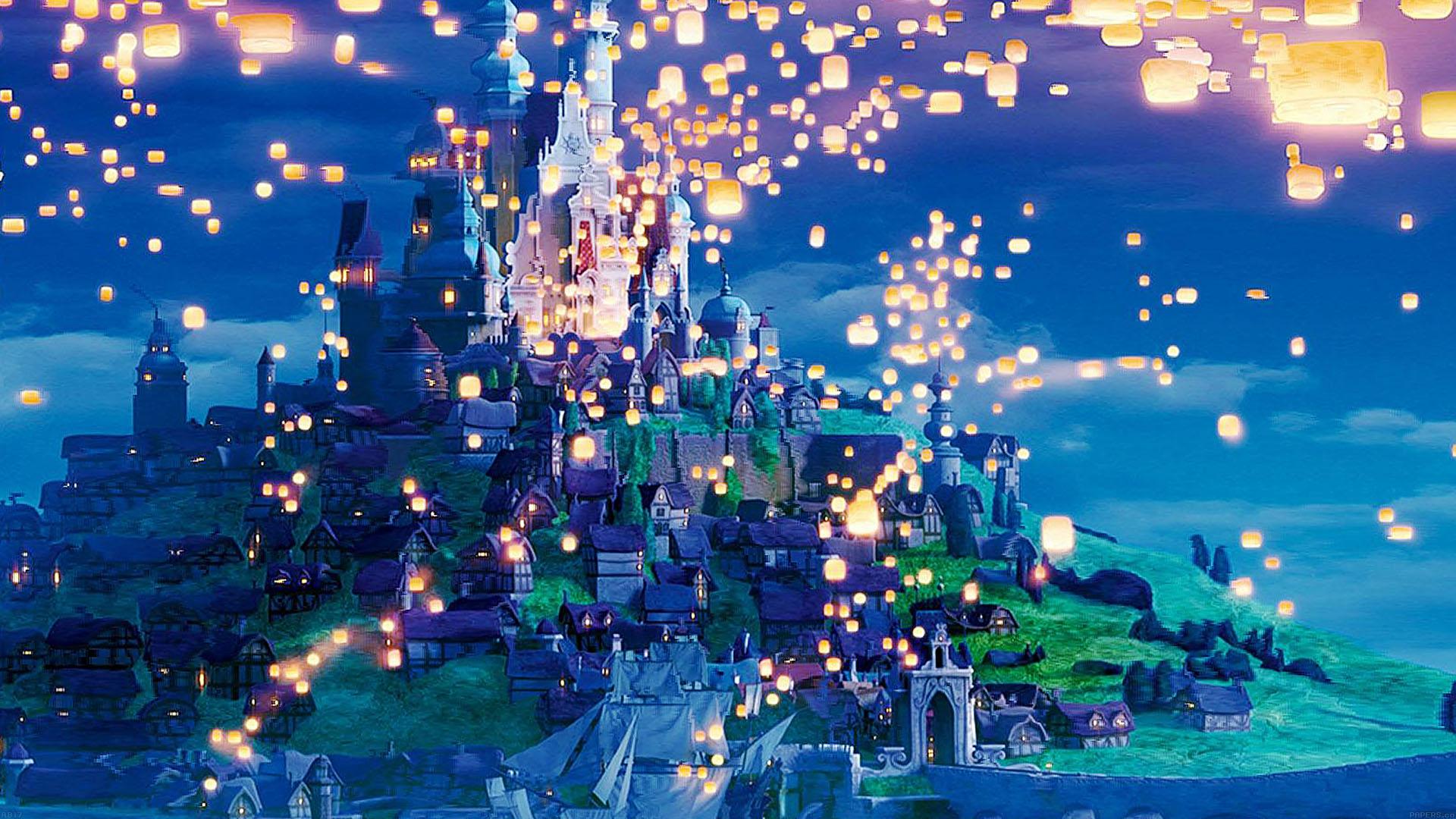 Mac Pro Fall Wallpaper 2017 Ab17 Wallpaper Rapunzel Dreams Disney Illust Papers Co