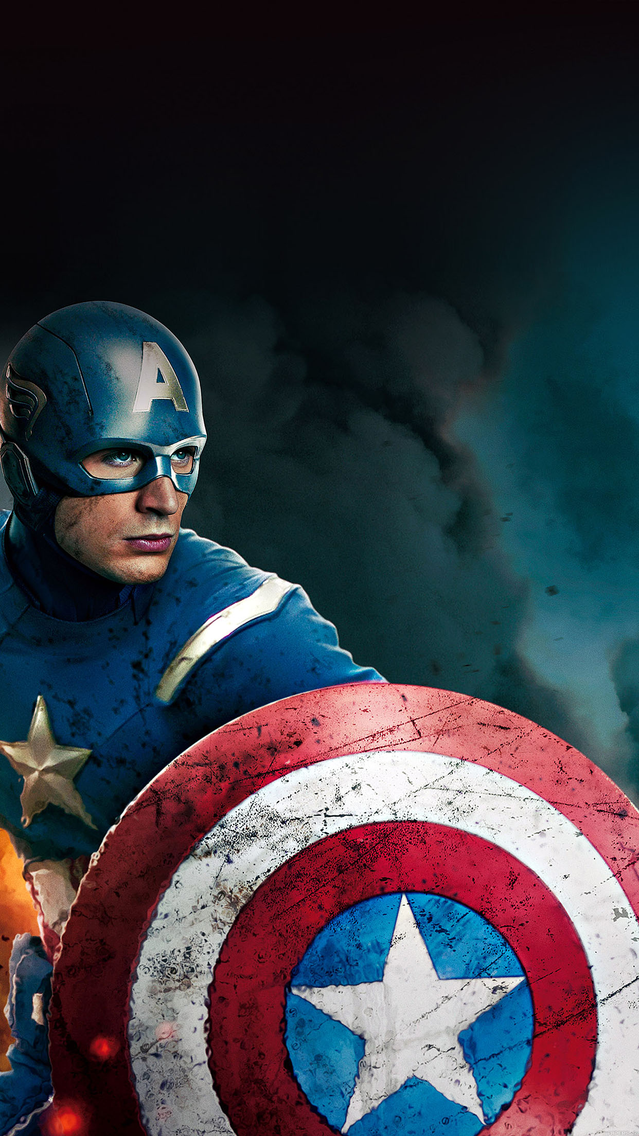 Lg Animated Wallpaper Ab21 Wallpaper Captain America Avengers Illust Film