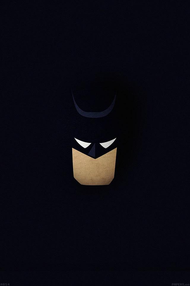 Superhero Hd Wallpapers Iphone Ab54 Wallpaper Batman Face Dark Minimal Papers Co