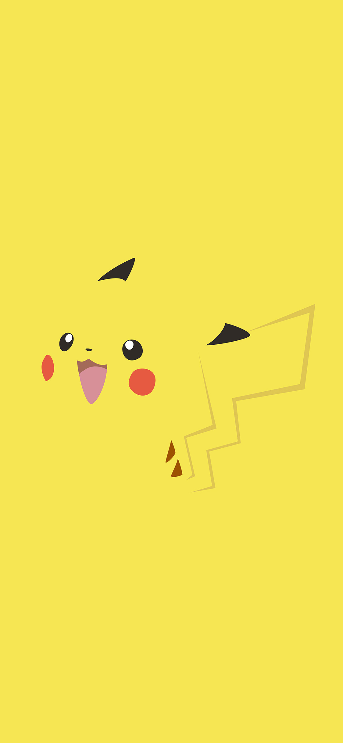 Cute Pikachu Iphone 5 Wallpaper Ab71 Wallpaper Pikachu Yellow Anime Papers Co