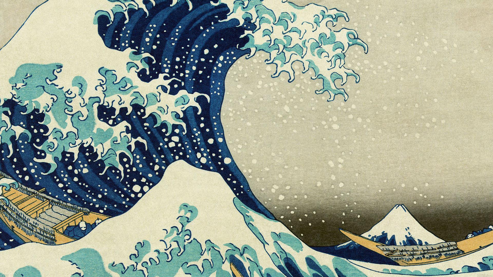 The Great Wave Off Kanagawa Hd Wallpaper 2560 X 1600