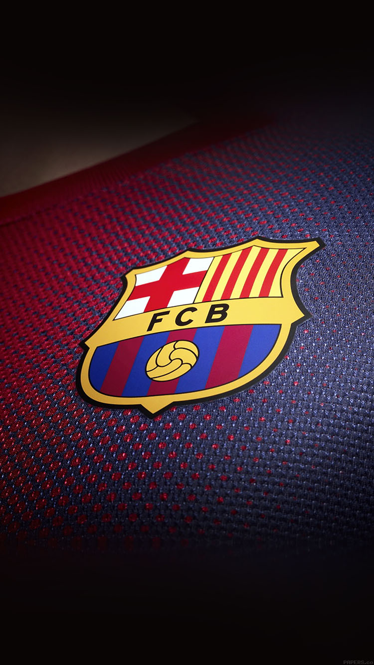 Car Wallpaper Hd For Iphone Ac37 Wallpaper Barcelona Logo Emblem Sports Papers Co