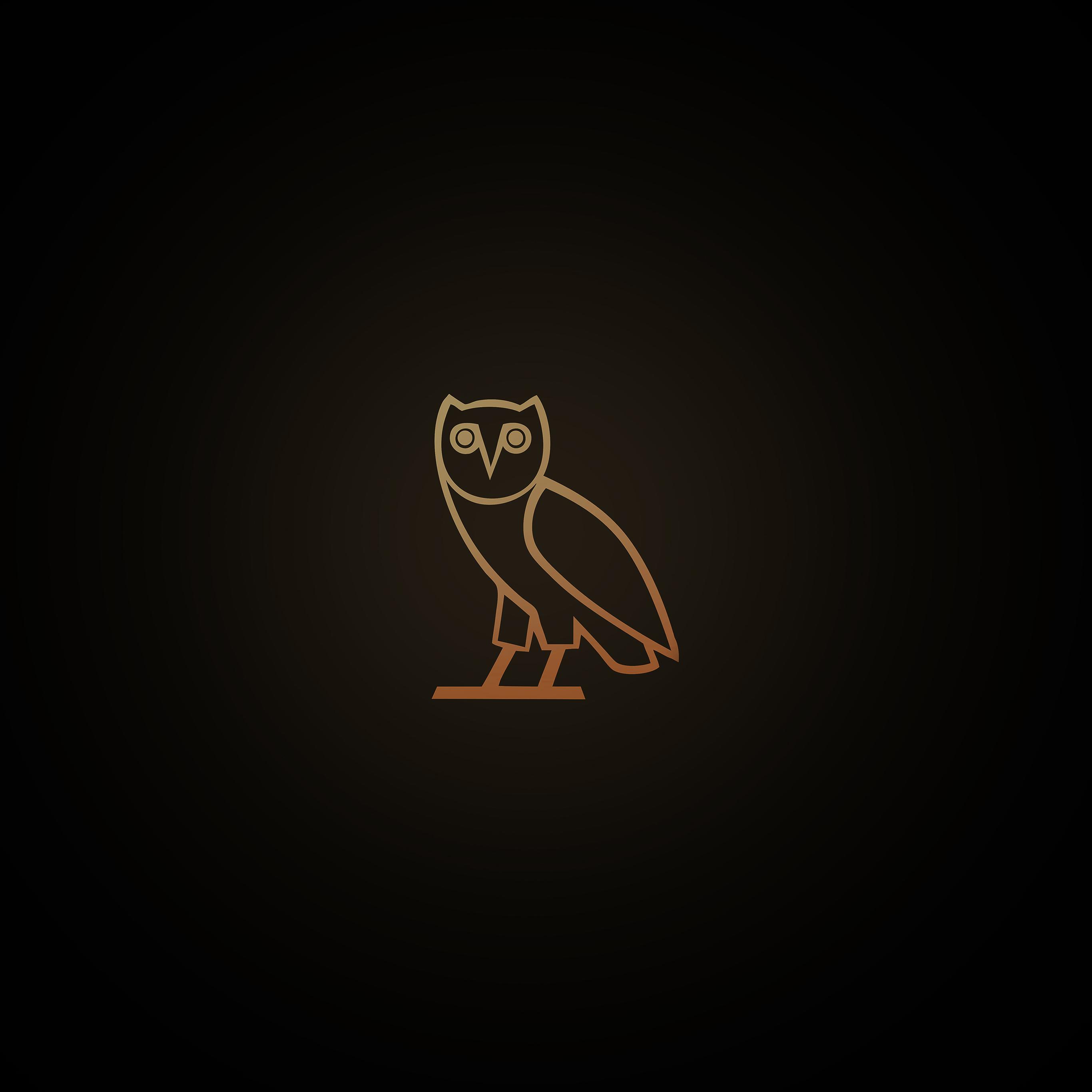 Black Car Wallpaper 1080p Ac82 Wallpaper Ovo Owl Logo Dark Minimal Papers Co