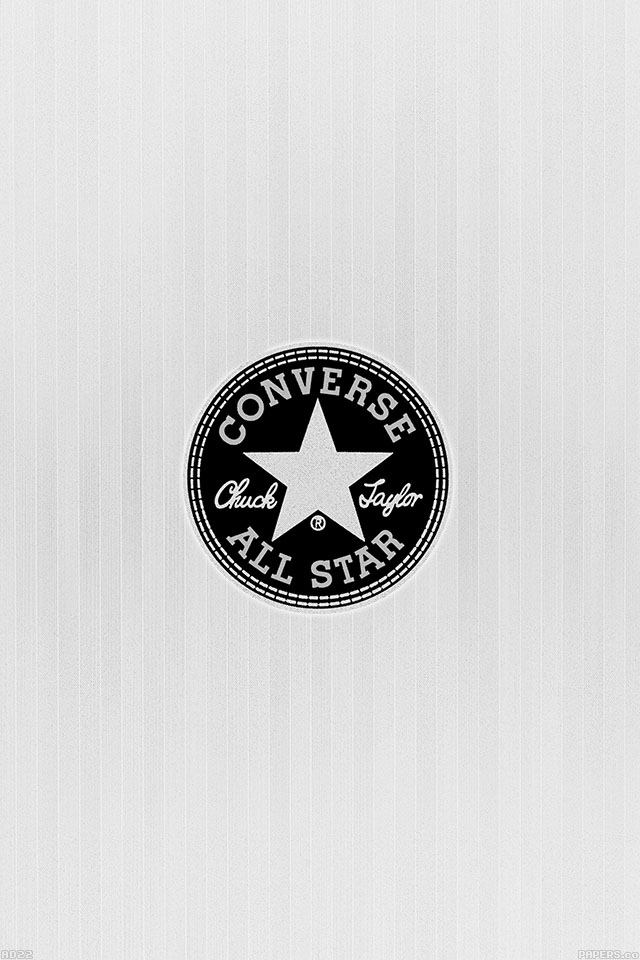 Apple Car Wallpaper Freeios7 Ad22 Converse Allstar Logo White Parallax Hd