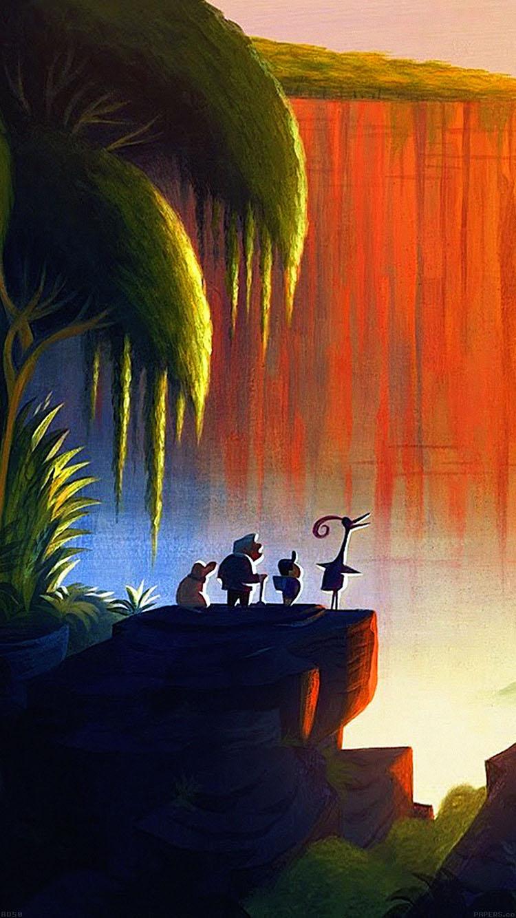 Fall Wallpaper Iphone 7 Plus Art Disney