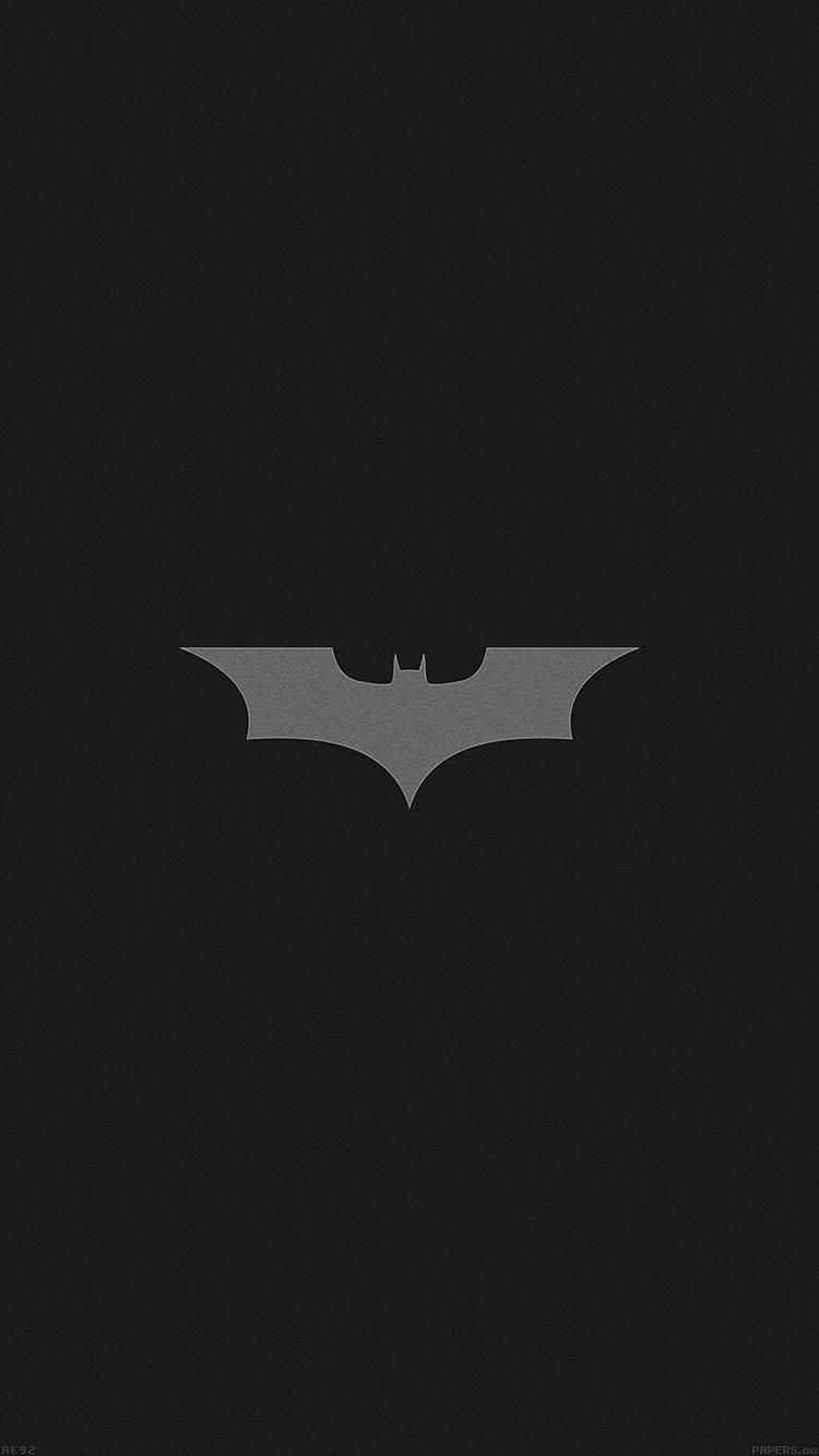 Dark Car Wallpaper Ae92 Batman Dark Night Logo Simple Minimal Papers Co