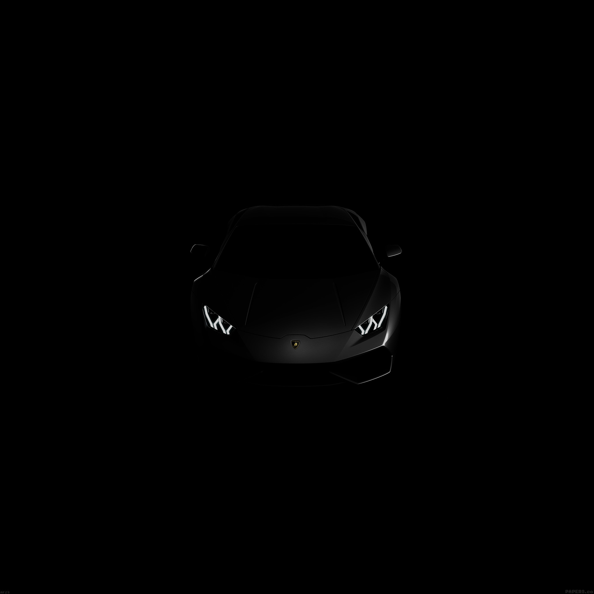 Quote Wallpaper For Sony Xperia Af29 Lamborghini Huracan Lp Black Dark Papers Co