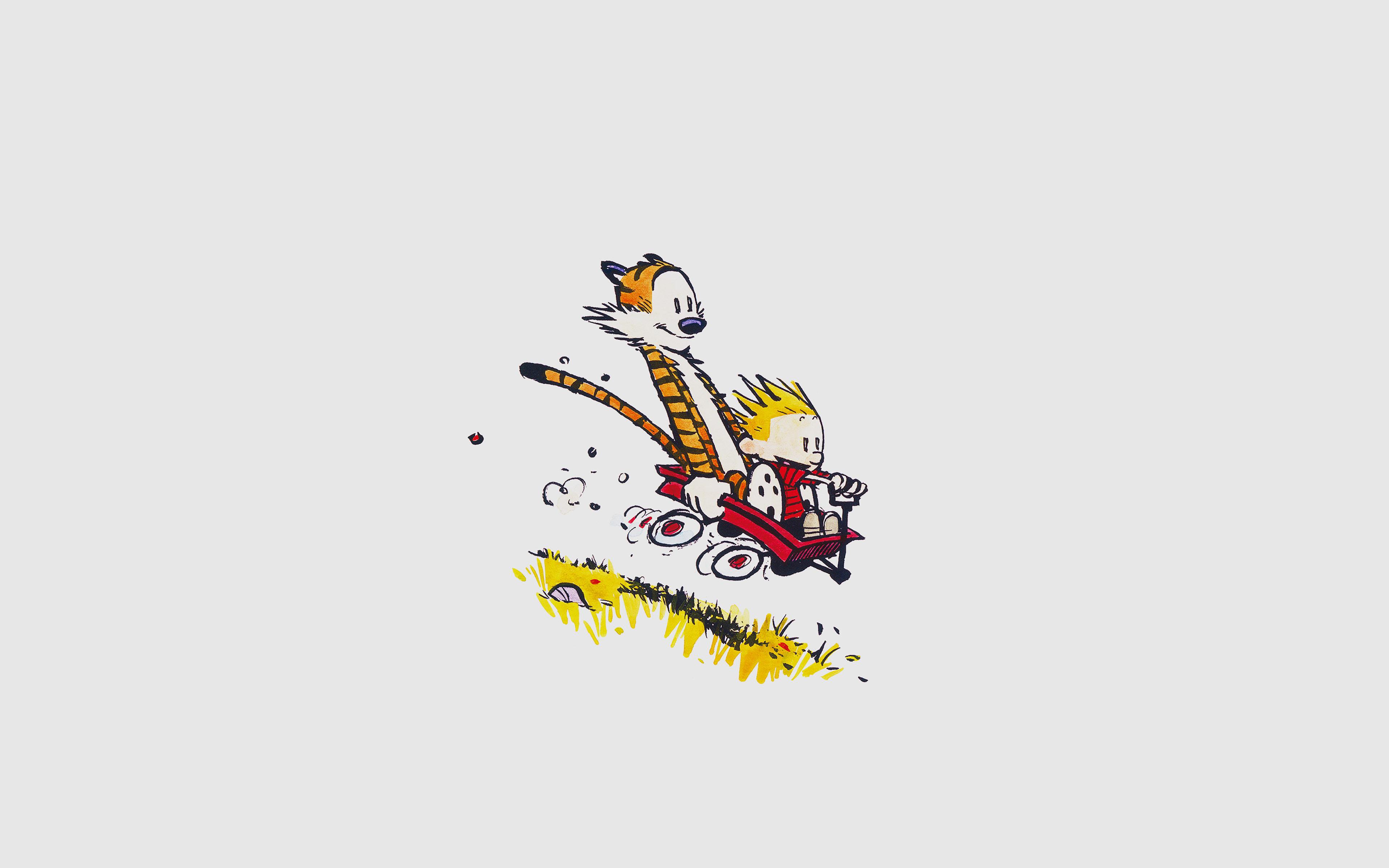 Cartoon Fall Wallpaper Af62 Calvin Hobbes Happy Times Cartoon Wallpaper