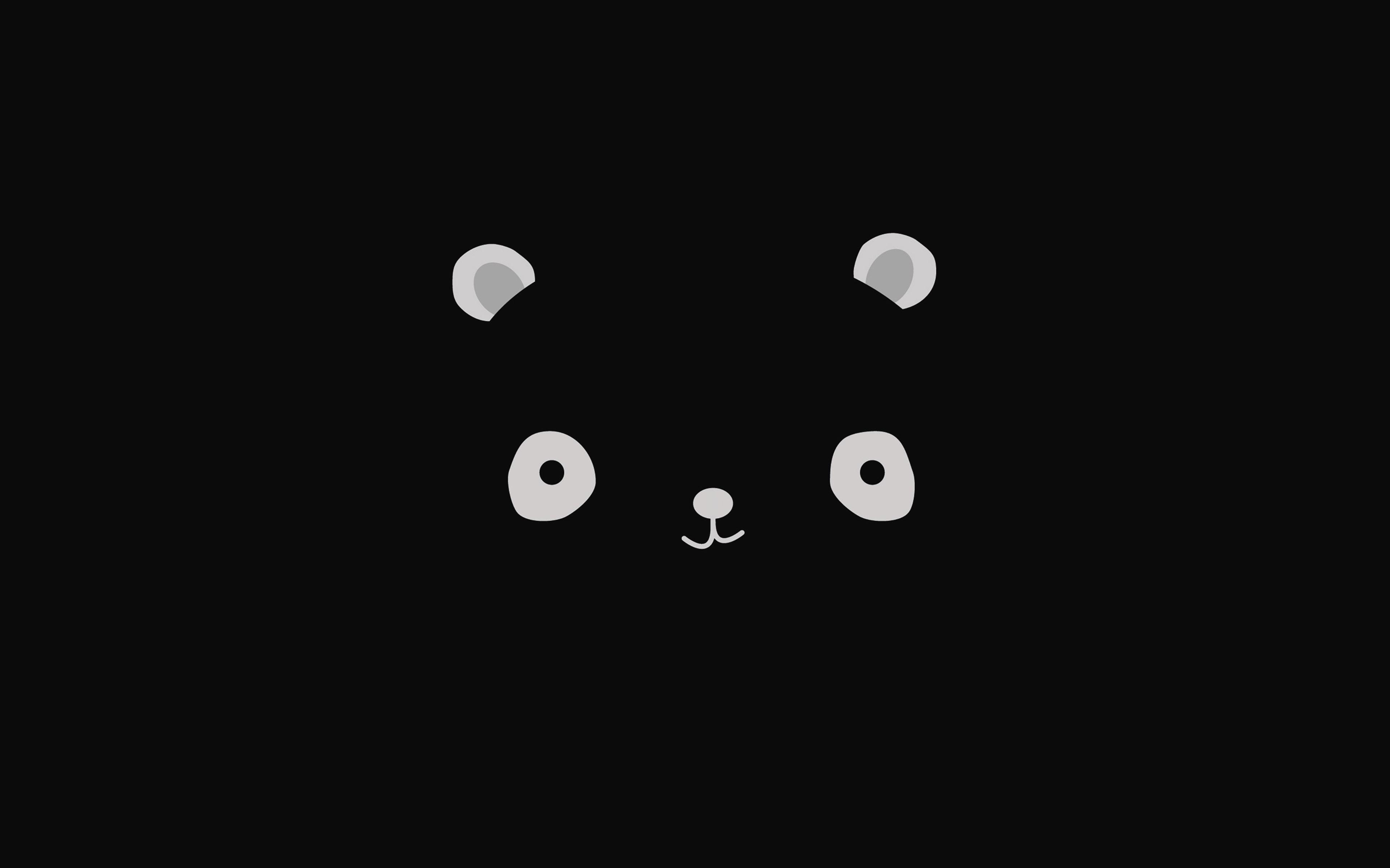 Fall Iphone Wallpaper Pinterest Ag17 Cute Minimal Panda Dark Illust Art Papers Co