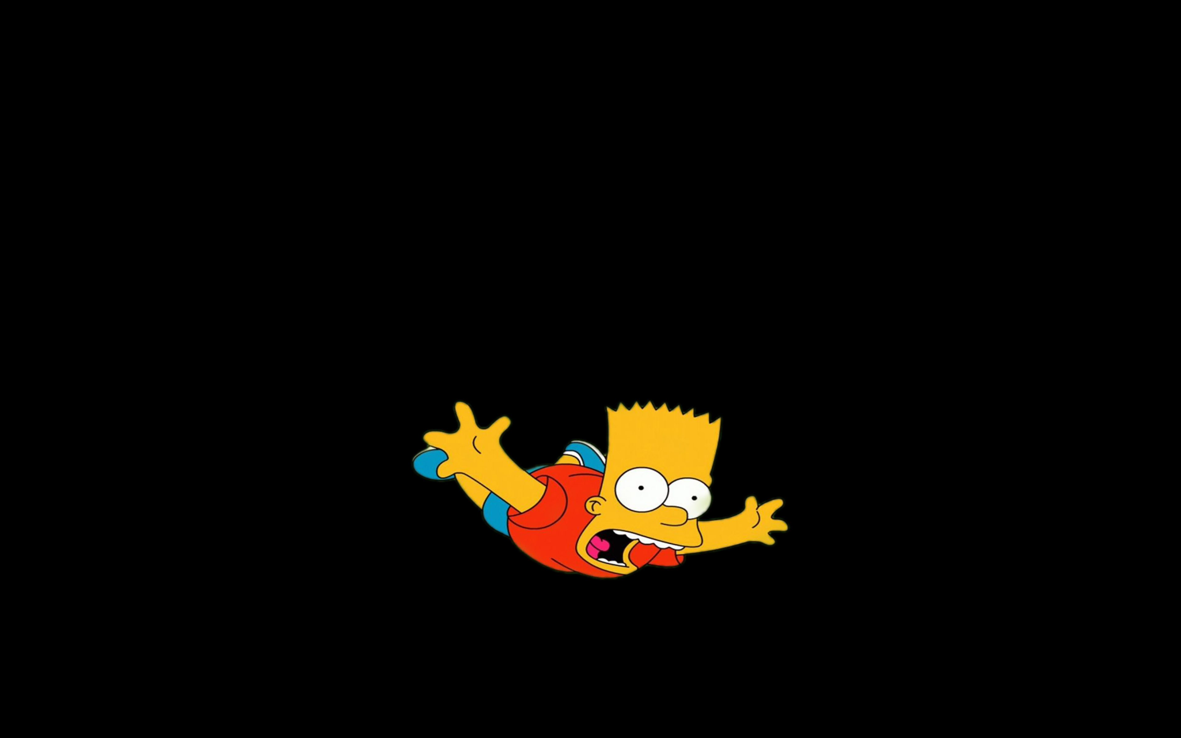 Cute Bokeh Wallpaper Ag70 Bart Simpson Funny Cute Illlust Papers Co