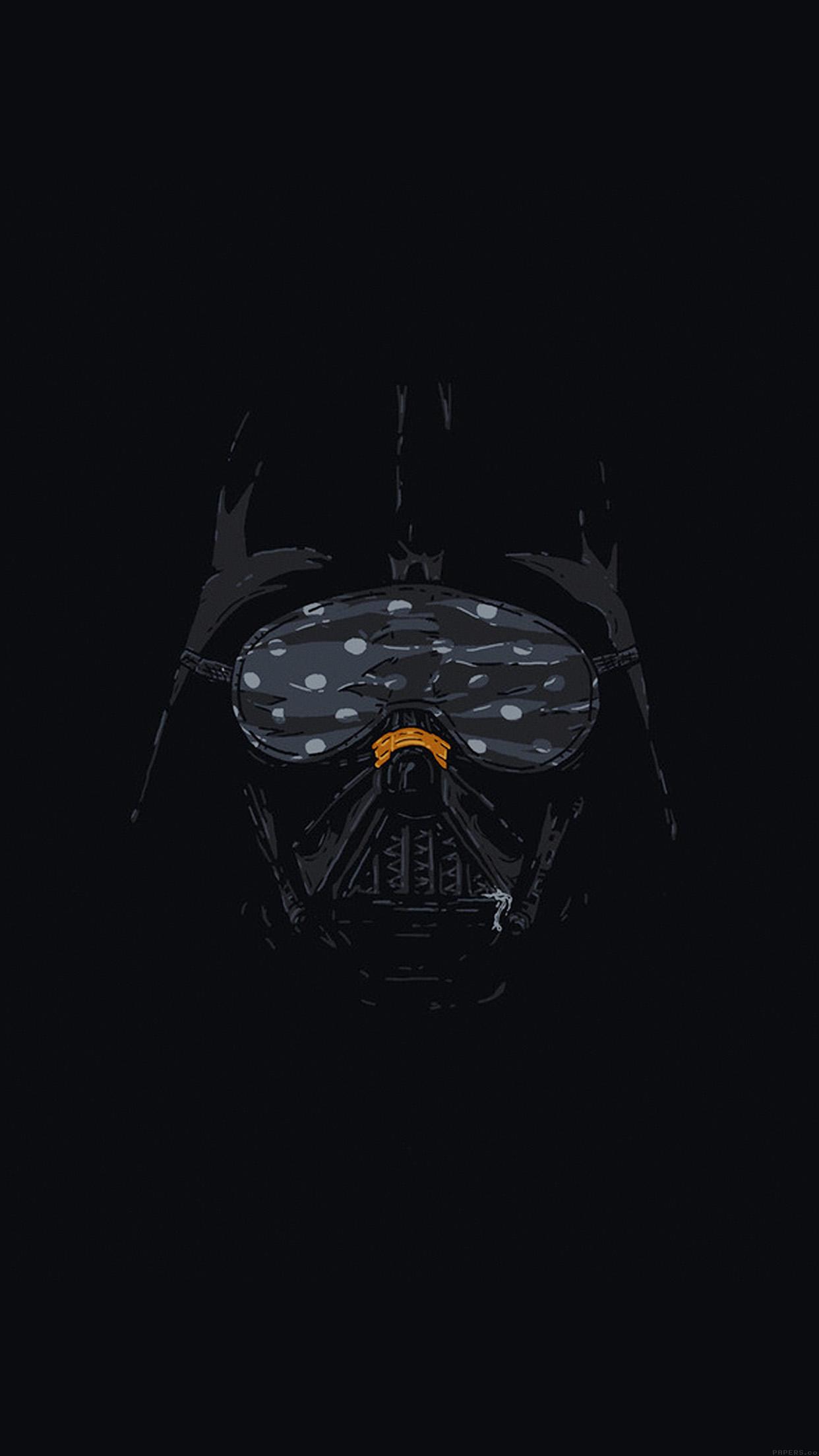 Simple Pubg Wallpaper Ah87 Darth Vader Minimal Starwars Illust Art Papers Co