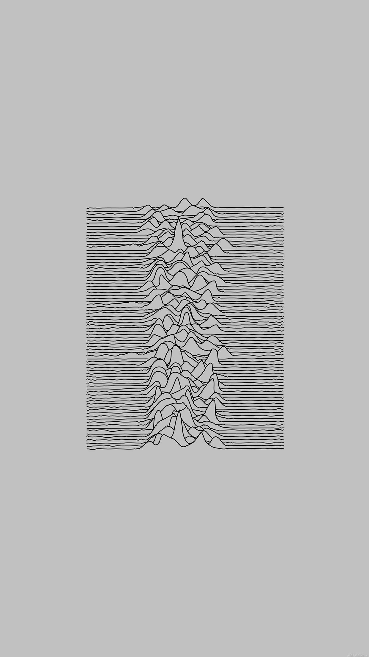 Car Wallpaper Samsung Ai51 Joy Division Unknown Pleasures White Art Minimal