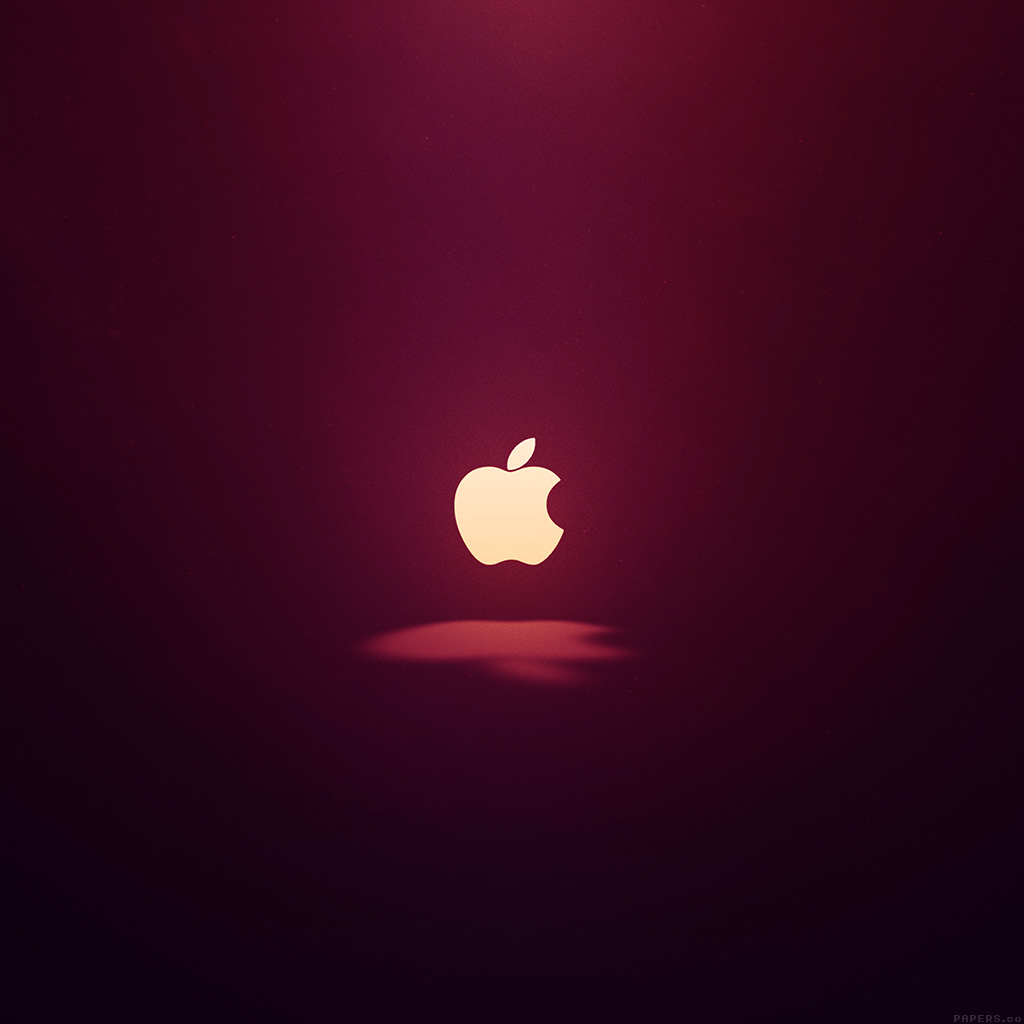3d Parallax Wallpapers Androod Ai61 Apple Logo Love Mania Wine Red