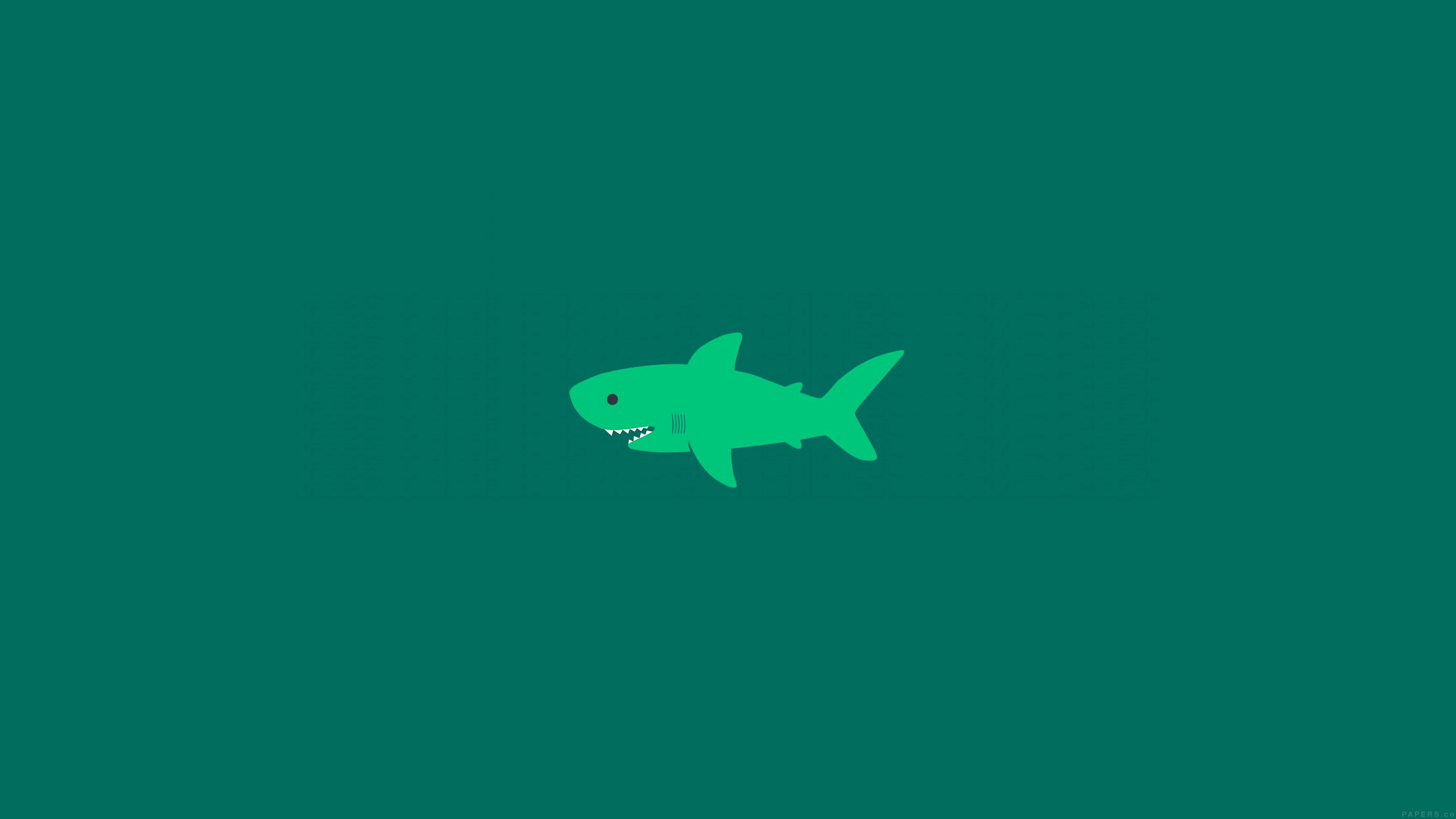 Cute Wallpapers Green Mint I Love Papers Wallpaper Ak02 Little Small Cute Shark