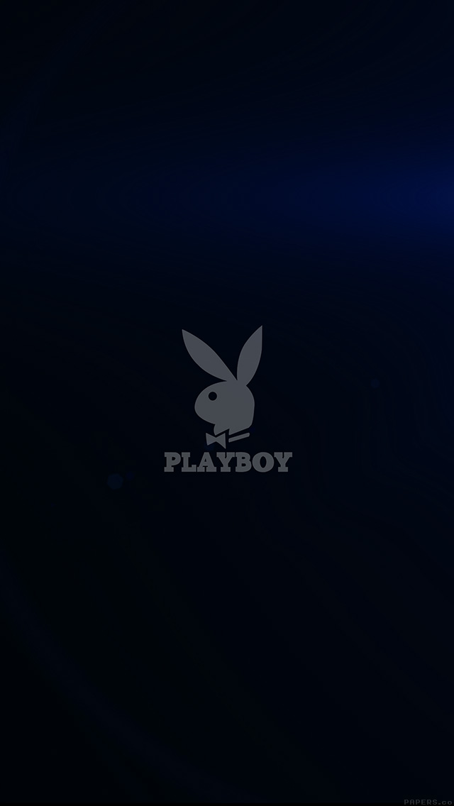 Iphone 5 Fall Wallpaper Freeios7 Ak53 Playboy Logo Dark Logo Parallax Hd