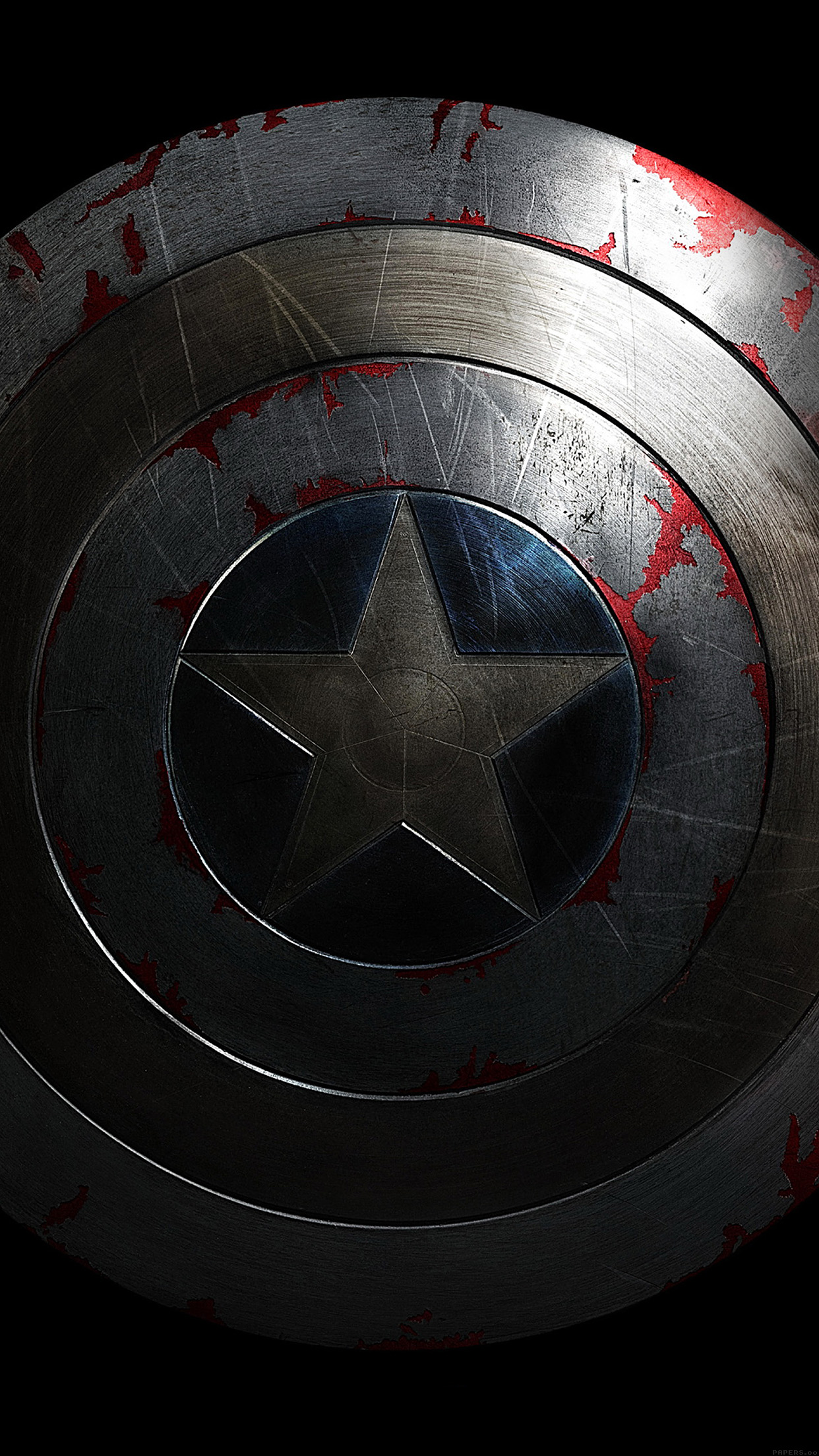 Hd Car Cell Phone Wallpaper Al84 Captain America Avengers Hero Sheild Art Dark Papers Co