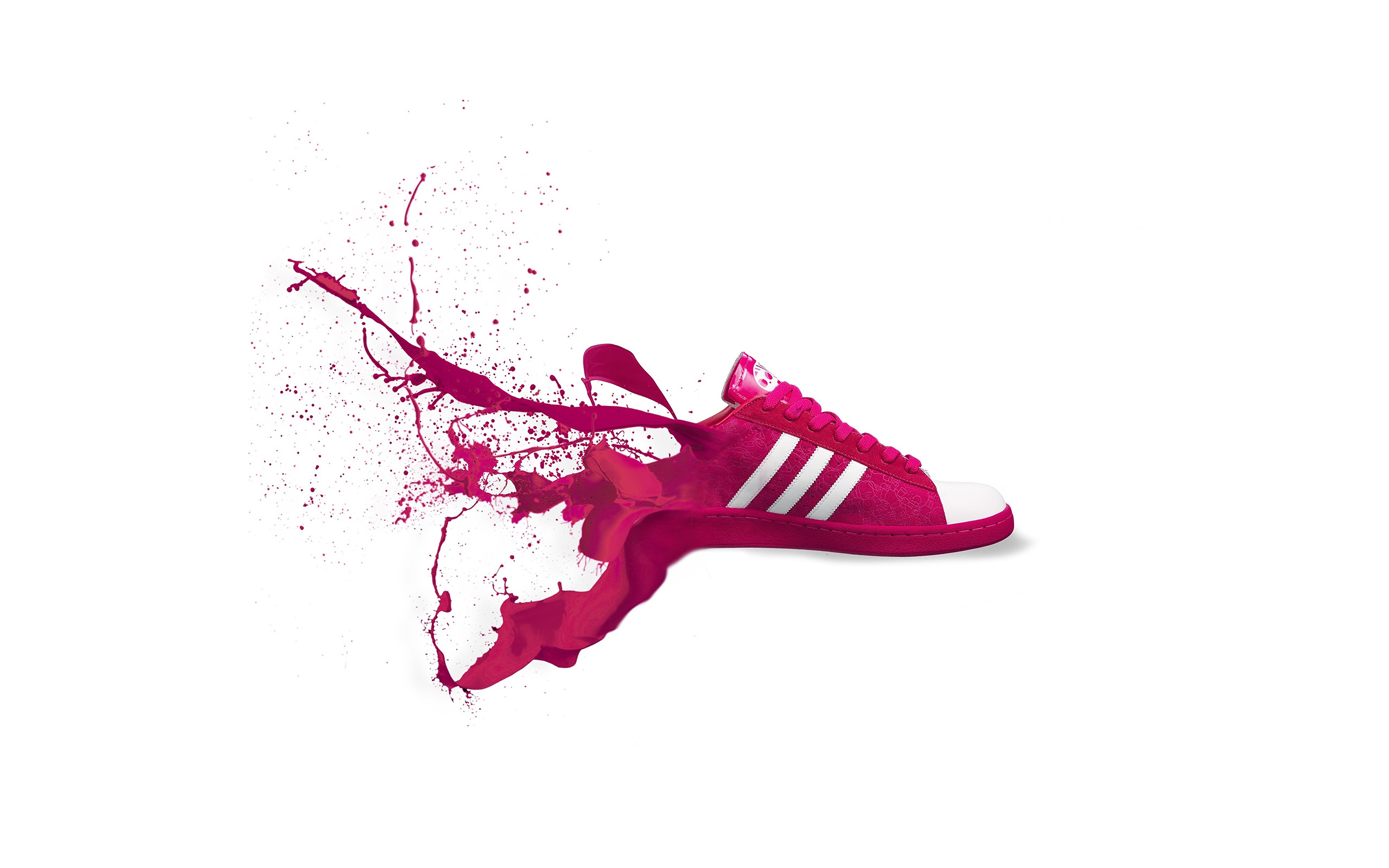 Adidas Logo Wallpaper Iphone Am06 Adidas Red Shoes Sneakers Logo Art Splash Papers Co
