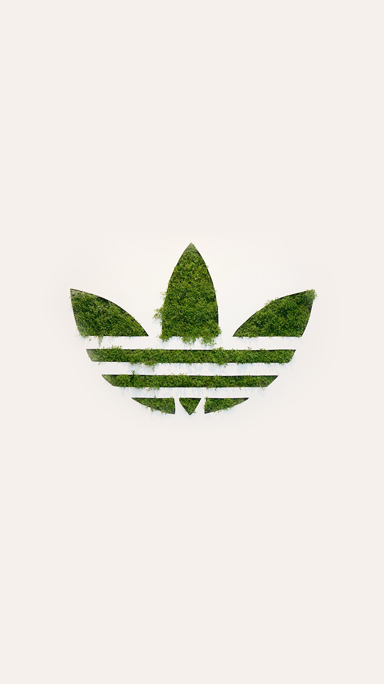 Nike Wallpaper Iphone 6s Am59 Adidas Logo Green Sports Grass Art Papers Co