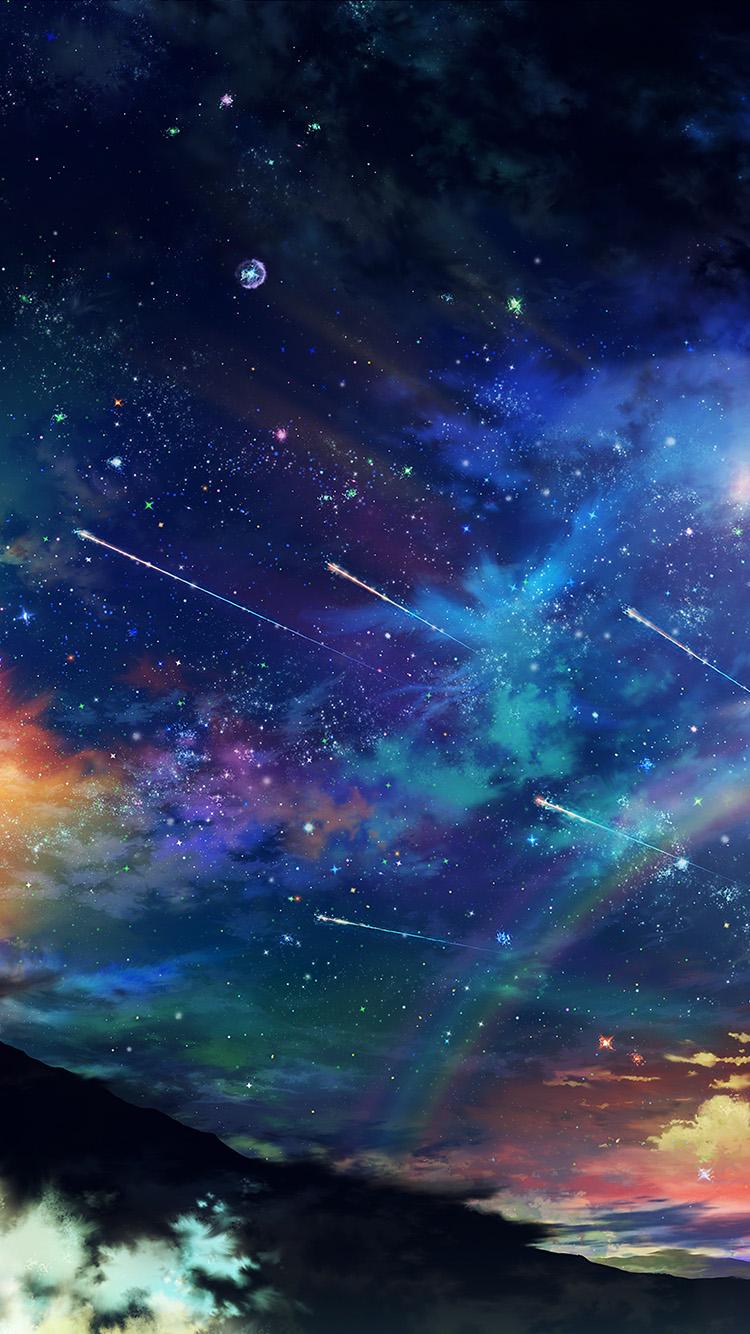 Psychedelic Wallpaper Hd Am61 Amazing Wonderful Tonight Sky Dark Star Space Wallpaper