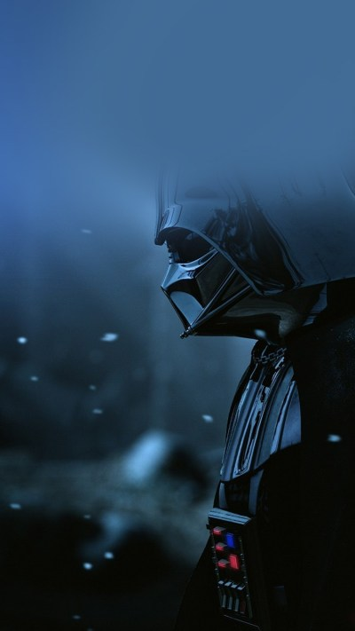 ao69-starwars-darth-vader-art-film-blue - Papers.co