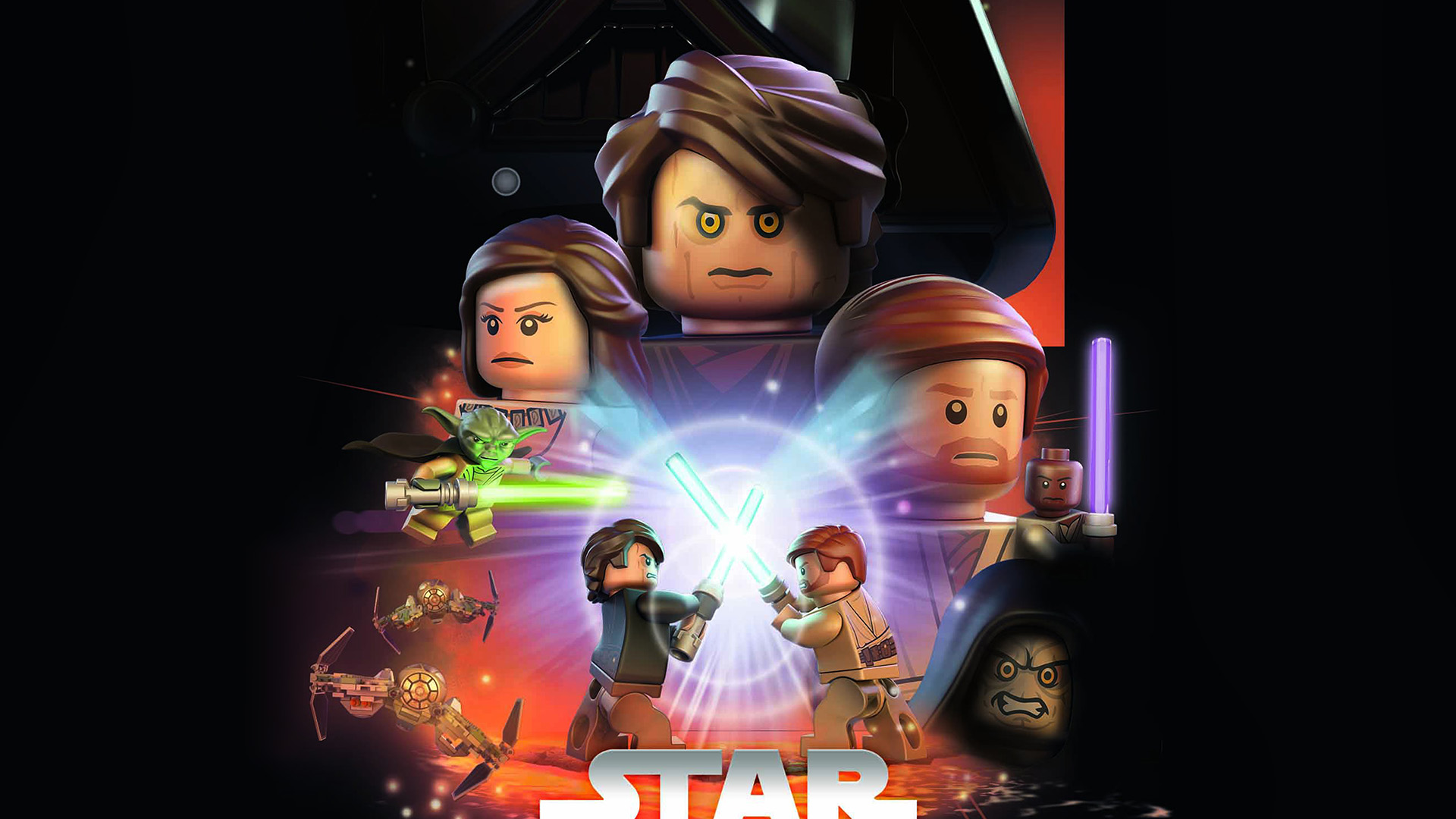 Google Wallpaper Images Fall Ap22 Starwars Lego Episode 3 Revenge Of The Sith Art Film
