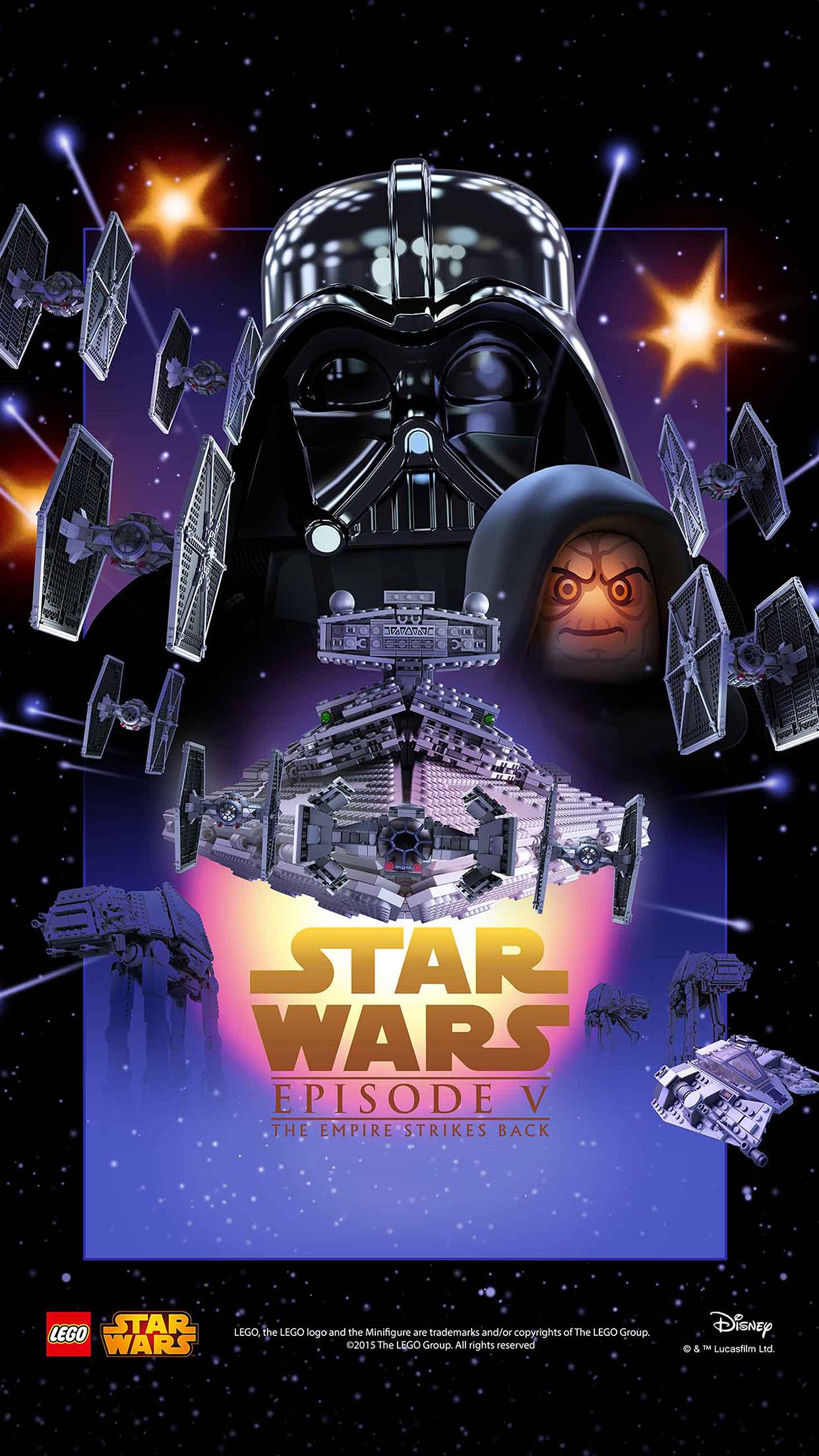 Car Wallpaper For Android Ap23 Starwars Lego Episode 5 Empire Strikes Back Film Art