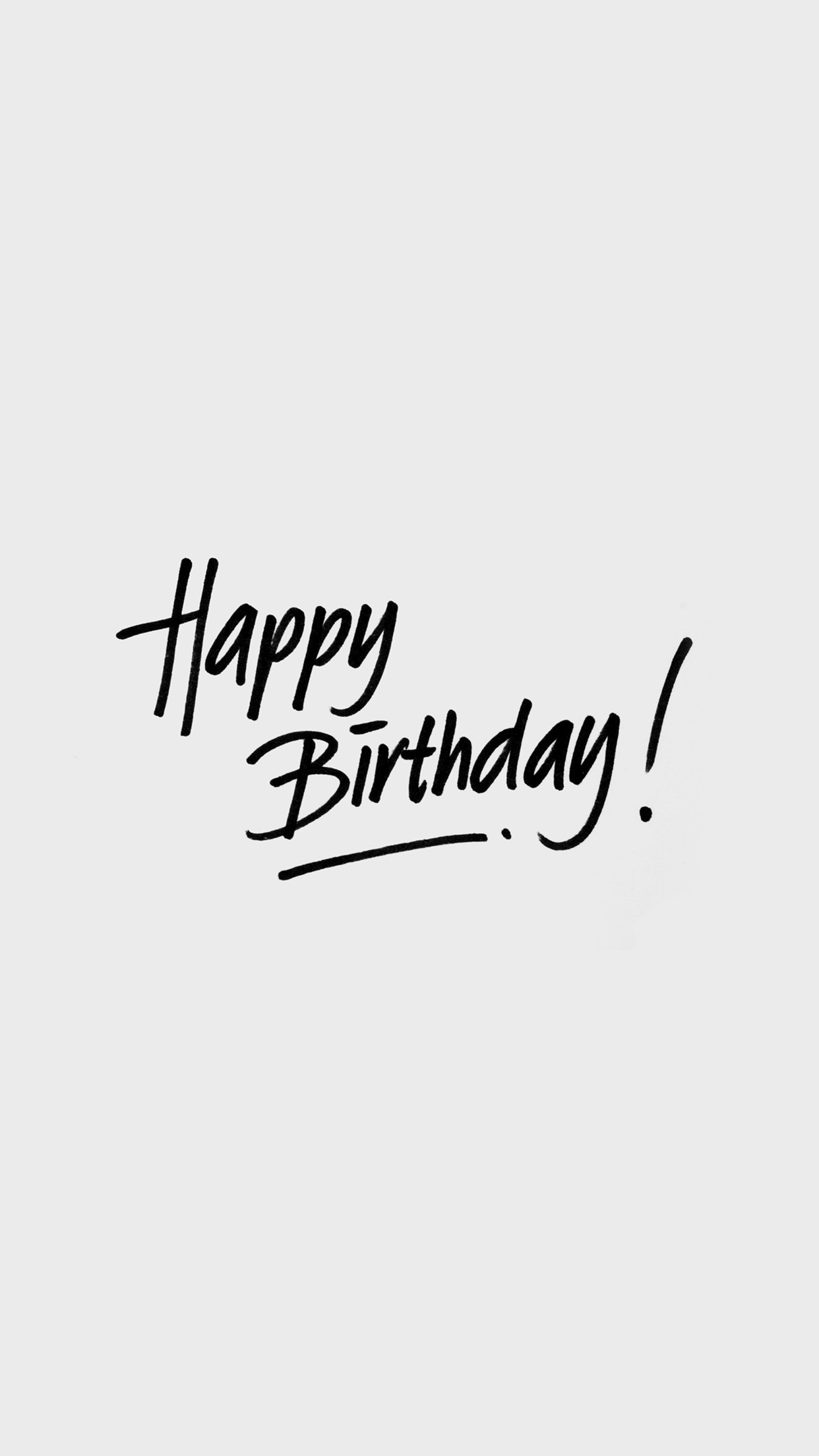 Wallpaper Writing Iphone7papers Iphone7 Wallpaper Ap55 Happy Birthday White