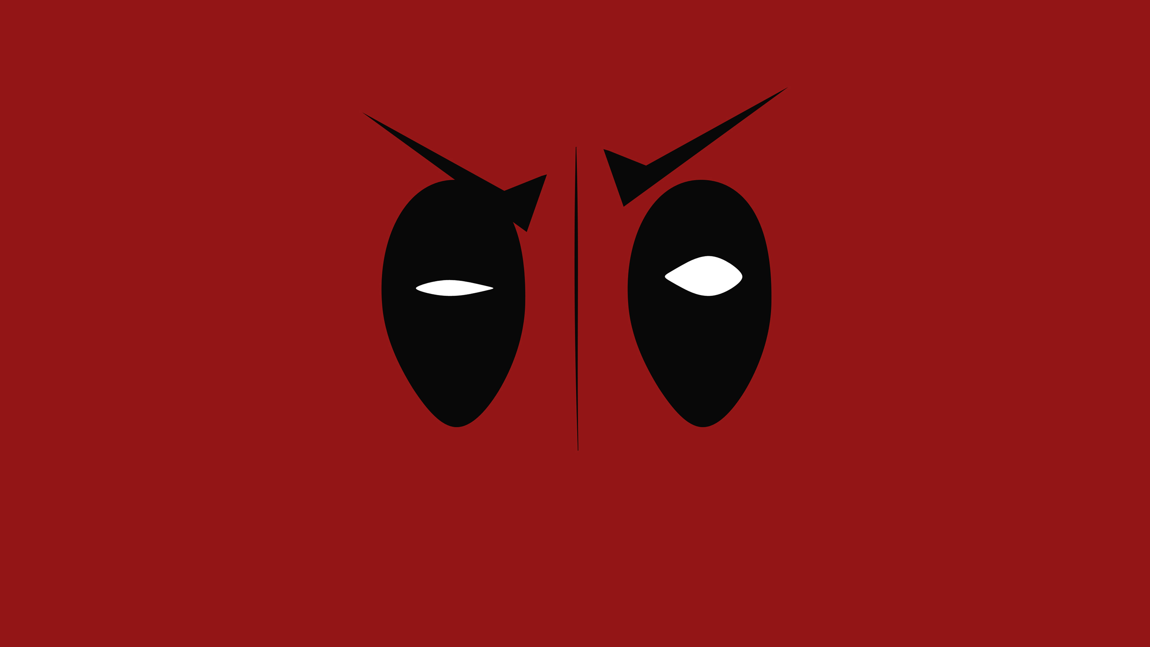 Iphone 7 Plus Christmas Wallpaper Ap59 Deadpool Hero Eye Logo Art Film Wallpaper