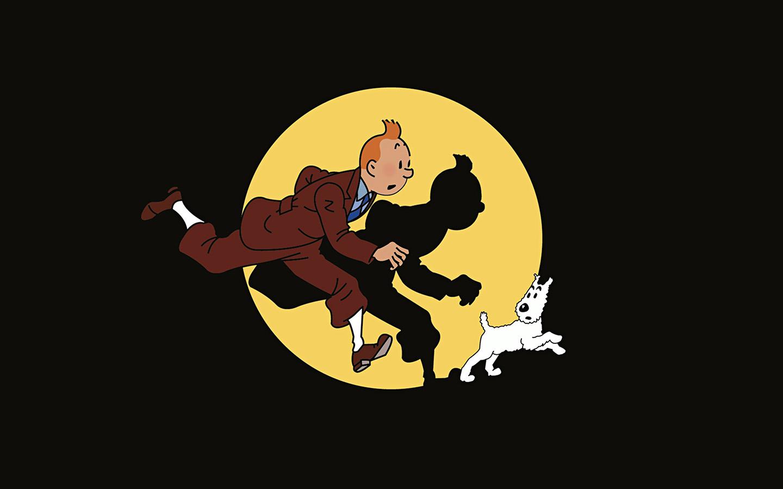 Cute Cloud Wallpaper Ap68 Tintin Illustration Art Dark Cute Wallpaper