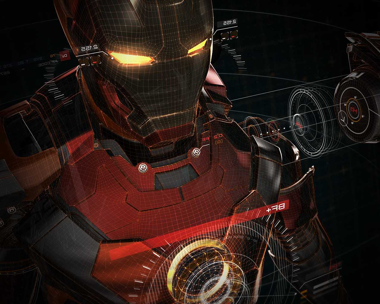 Best 3d Iphone Wallpapers I Love Papers Aq06 Ironman 3d Red Game Avengers Art