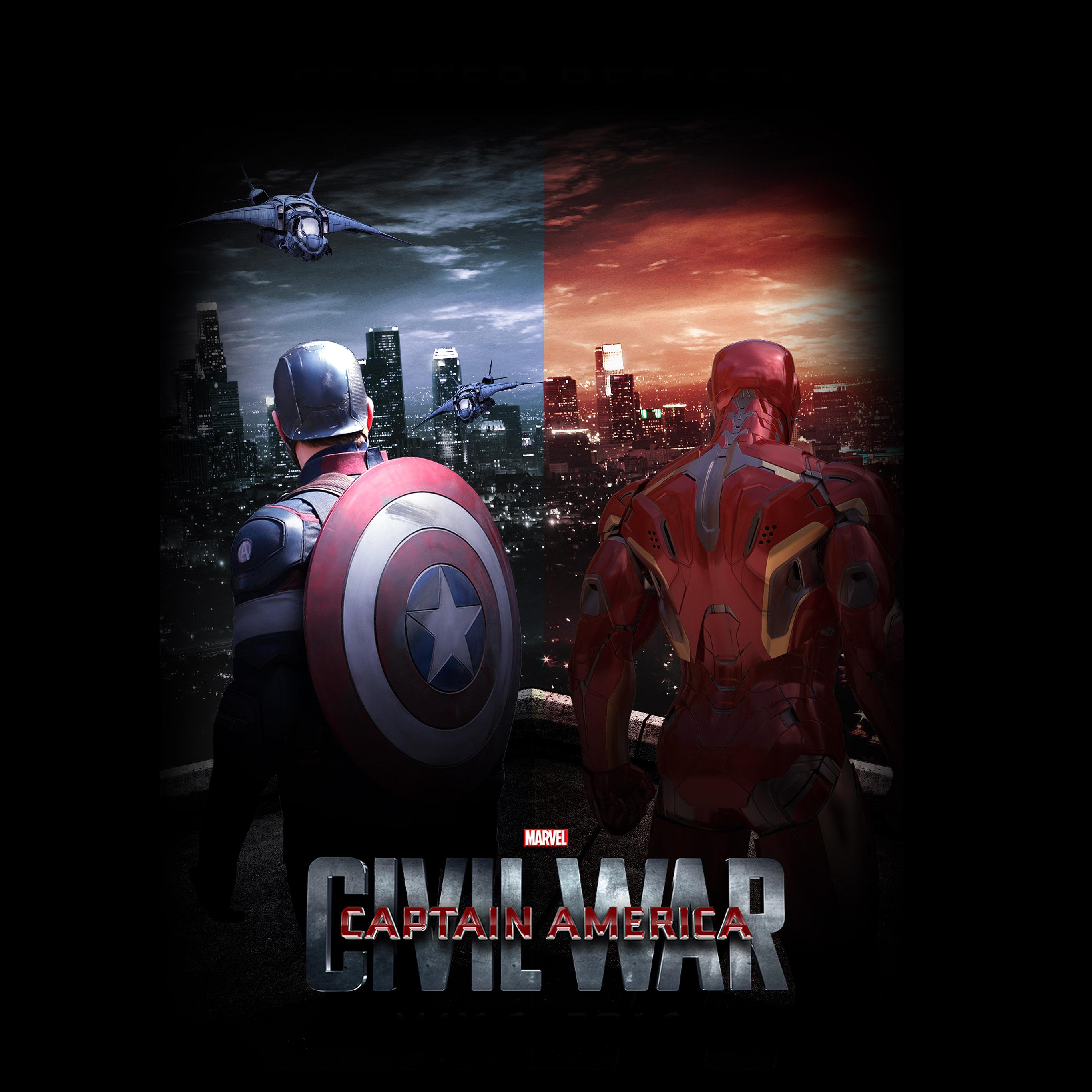 Avengers Wallpaper Iphone 6 Aq73 Captain America Civilwar Art Poster Hero Wallpaper