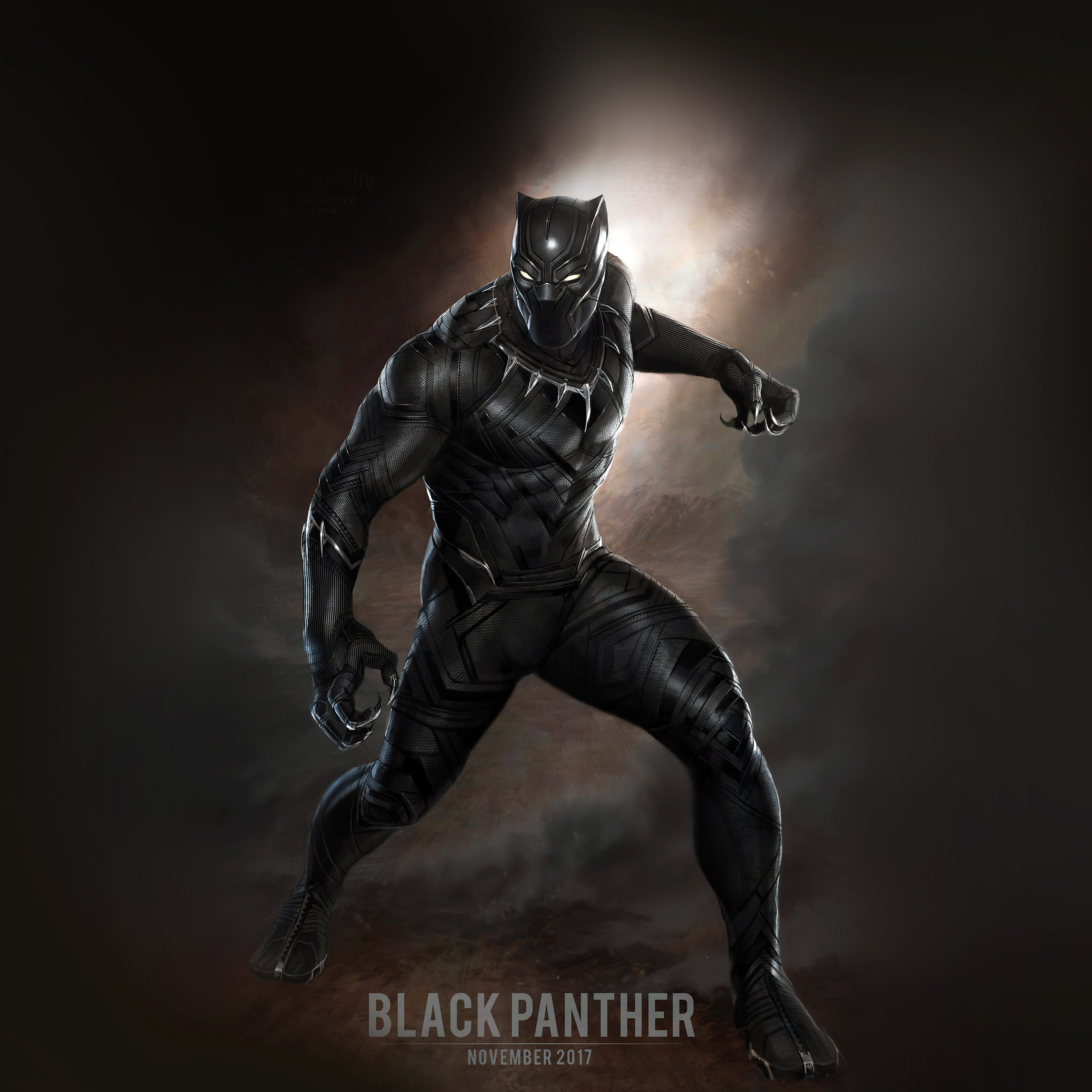 Hd 3d Droid Wallpapers Aq76 Black Panther Art Hero Captain America Wallpaper