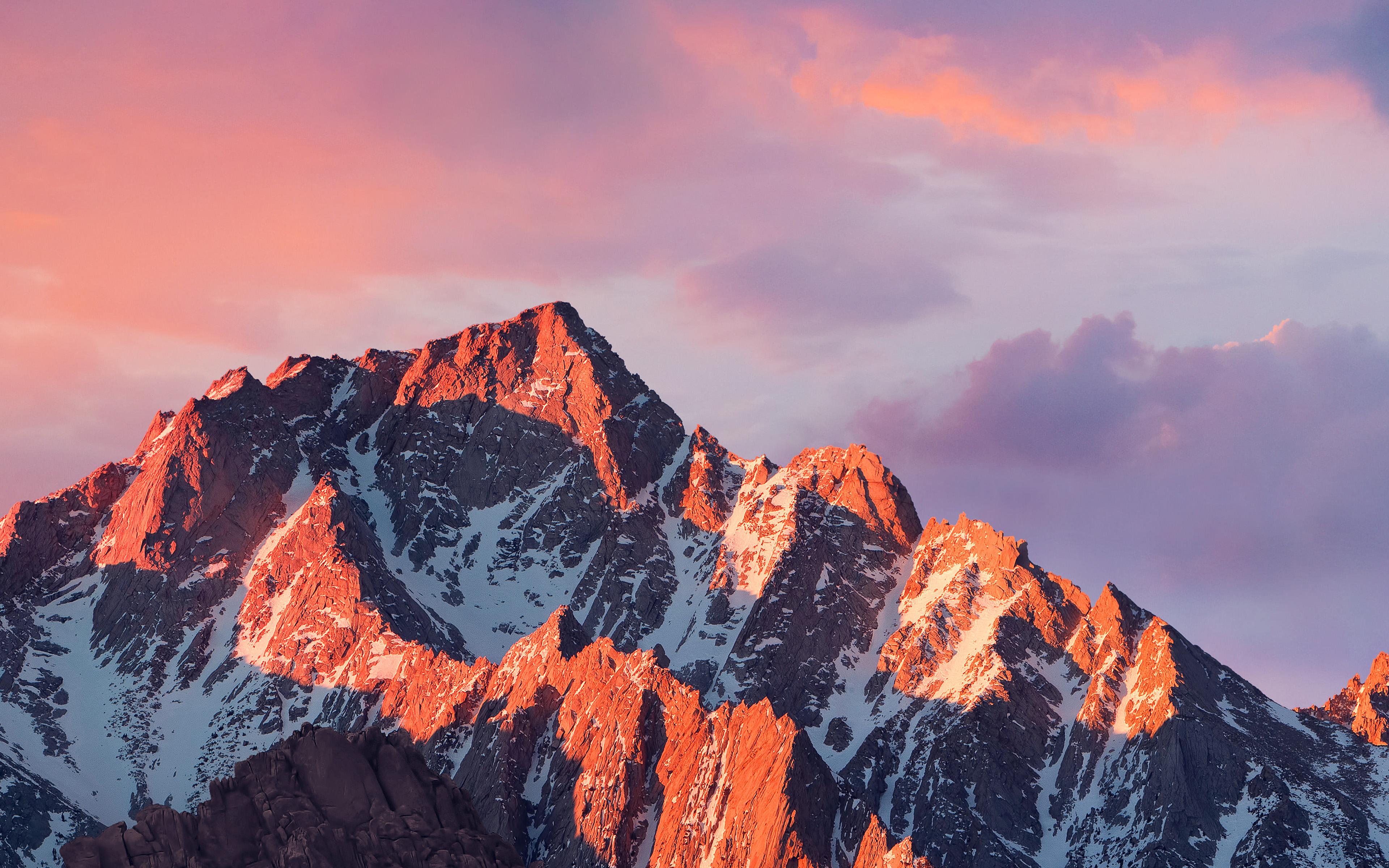 Fall Winter Iphone Wallpaper Ar67 4k Sierra Apple Wallpaper Art Mountain Sunset Wallpaper