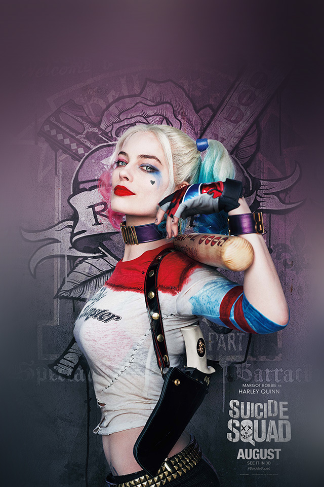Mini Car Hd Wallpaper As34 Suicide Squad Poster Film Art Hall Harley Quinn Wallpaper