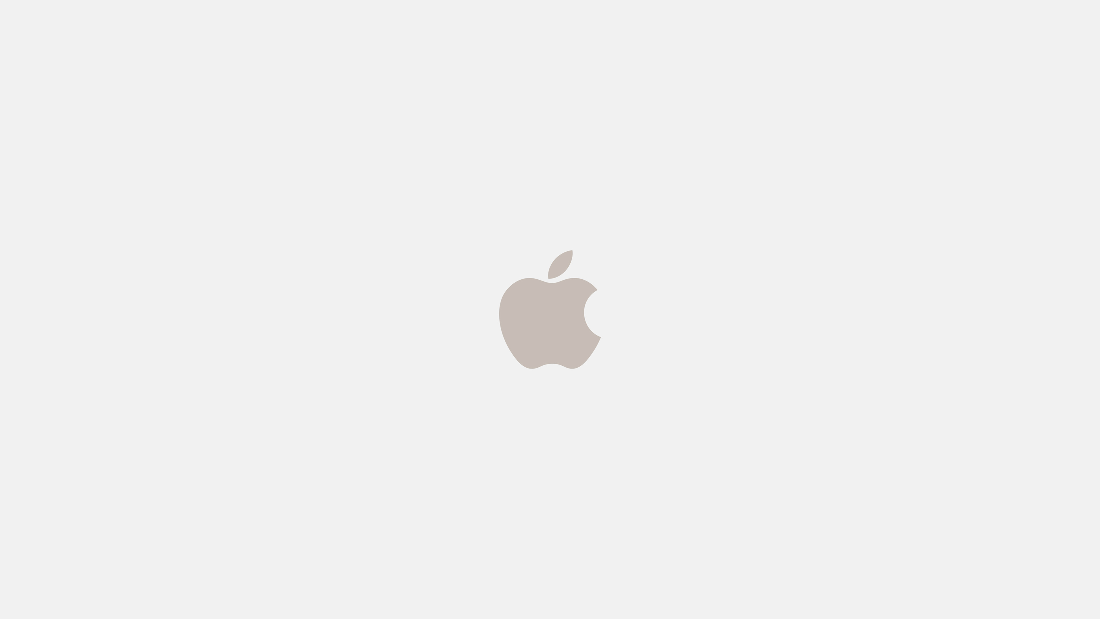 Minimalist Fall Wallpapers As69 Iphone7 Apple Logo White Gold Art Illustration Wallpaper