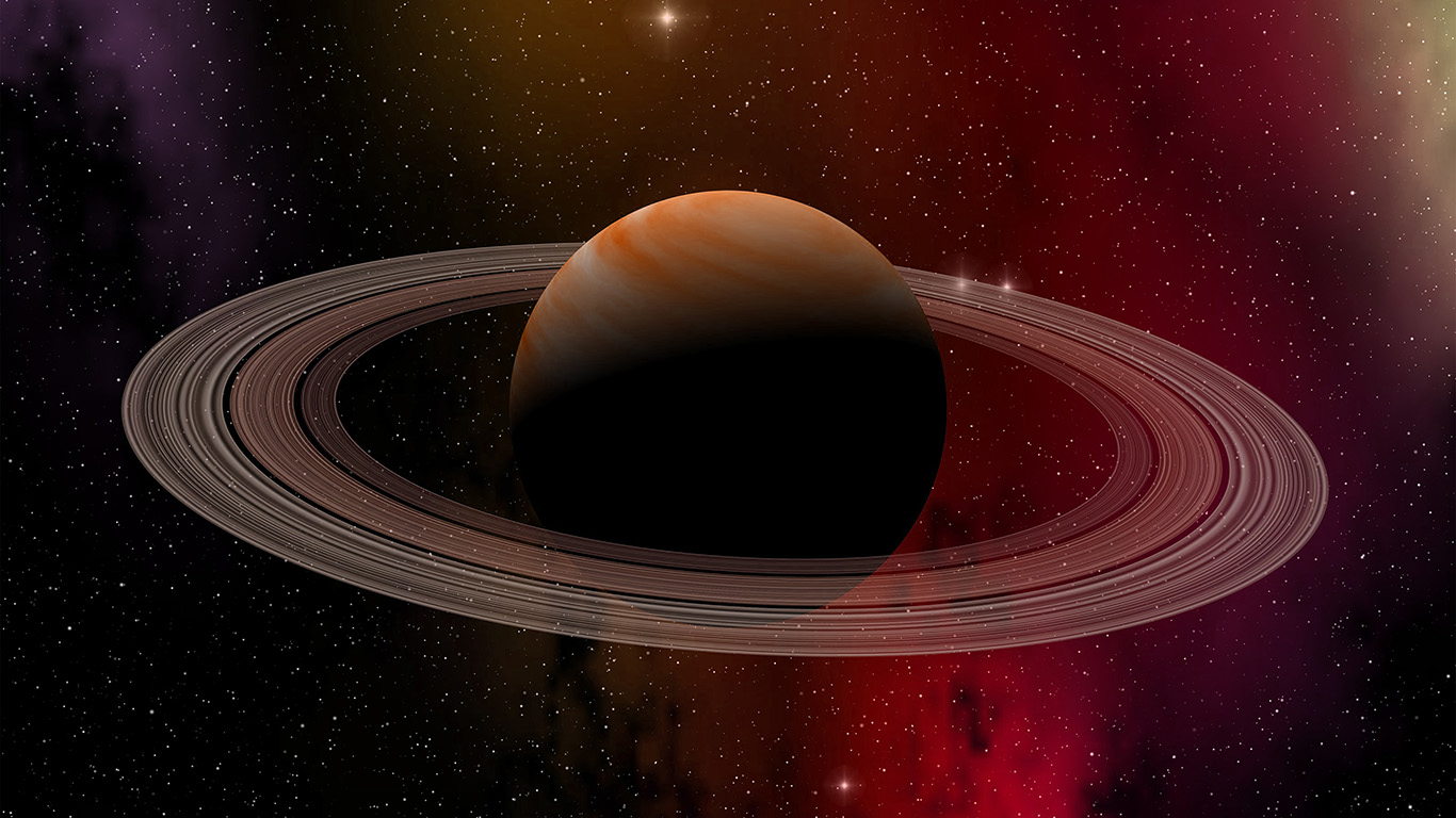Black And Red Iphone Wallpaper Wallpaper For Desktop Laptop At79 Space Planet Saturn