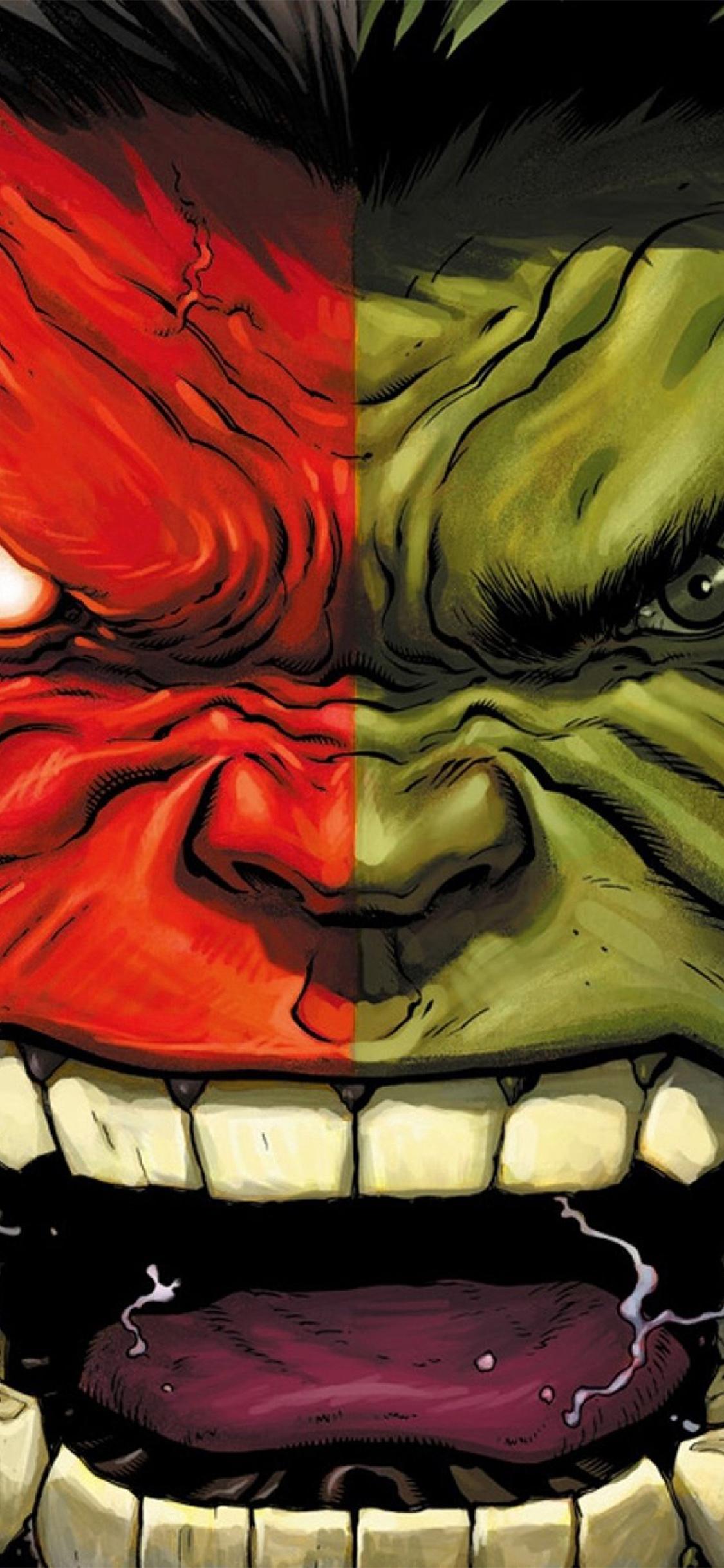 Abstract Iphone 5 Wallpaper Hd Au36 Hulk Red Anger Cartoon Illustration Art Wallpaper