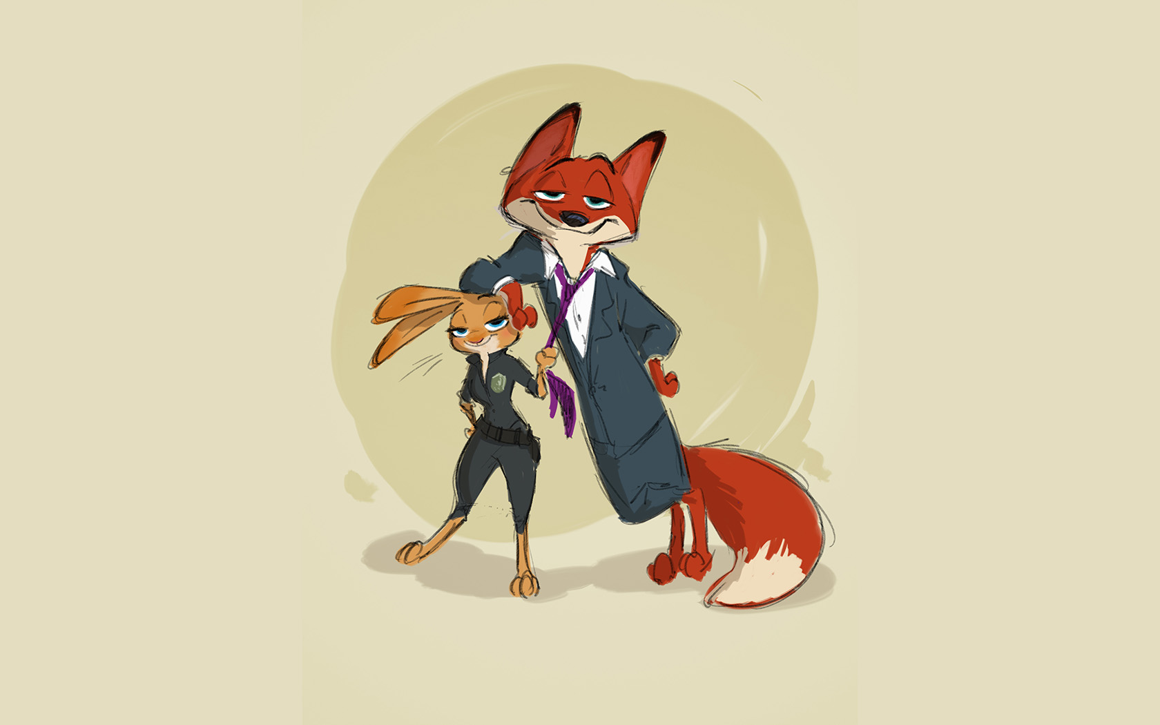 Animal Pattern Wallpaper Wallpaper For Desktop Laptop Au54 Zootopia Cute Animal