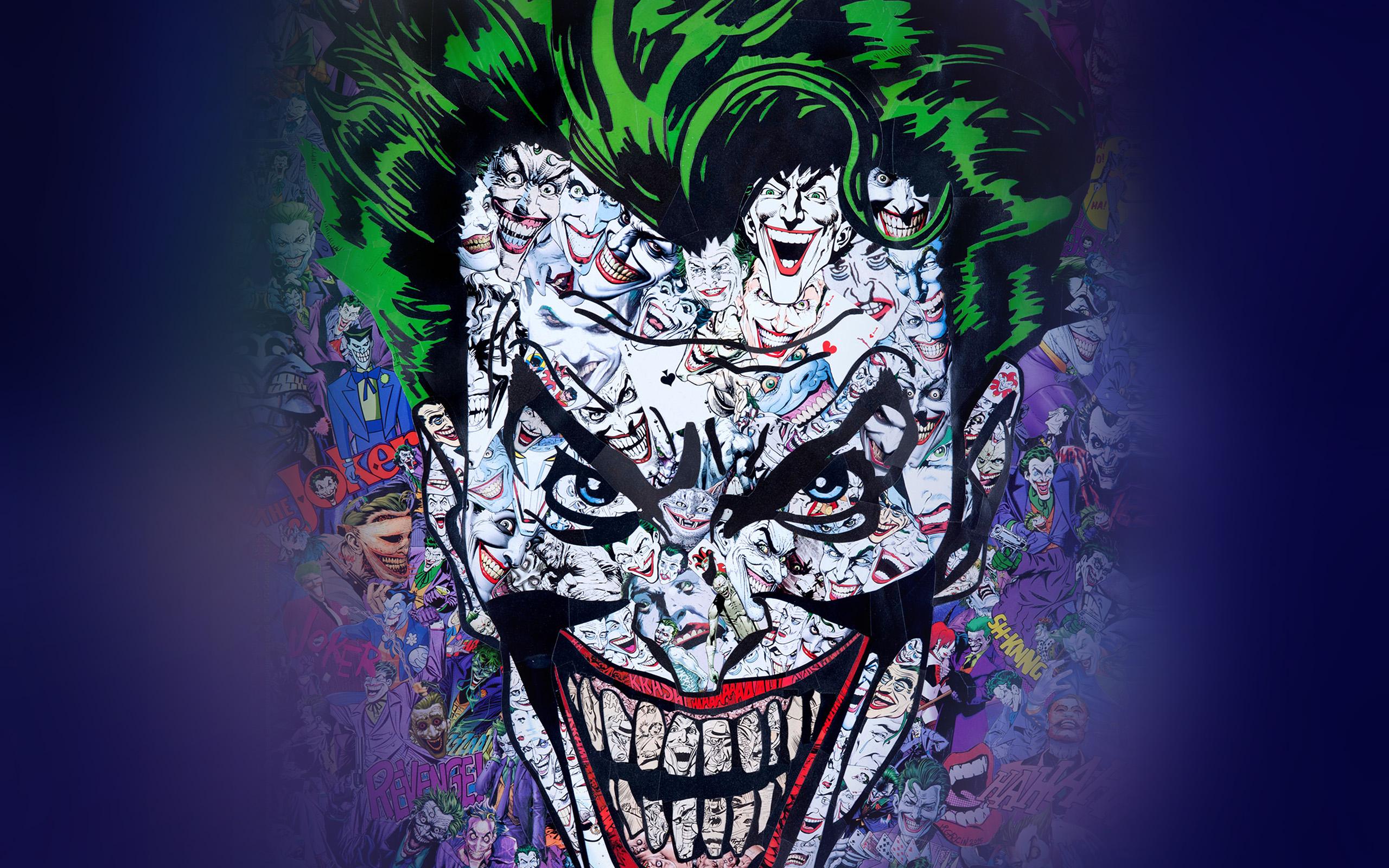 Wallpaper Iphone Hd Keren Au55 Joker Art Face Illustration Art Wallpaper