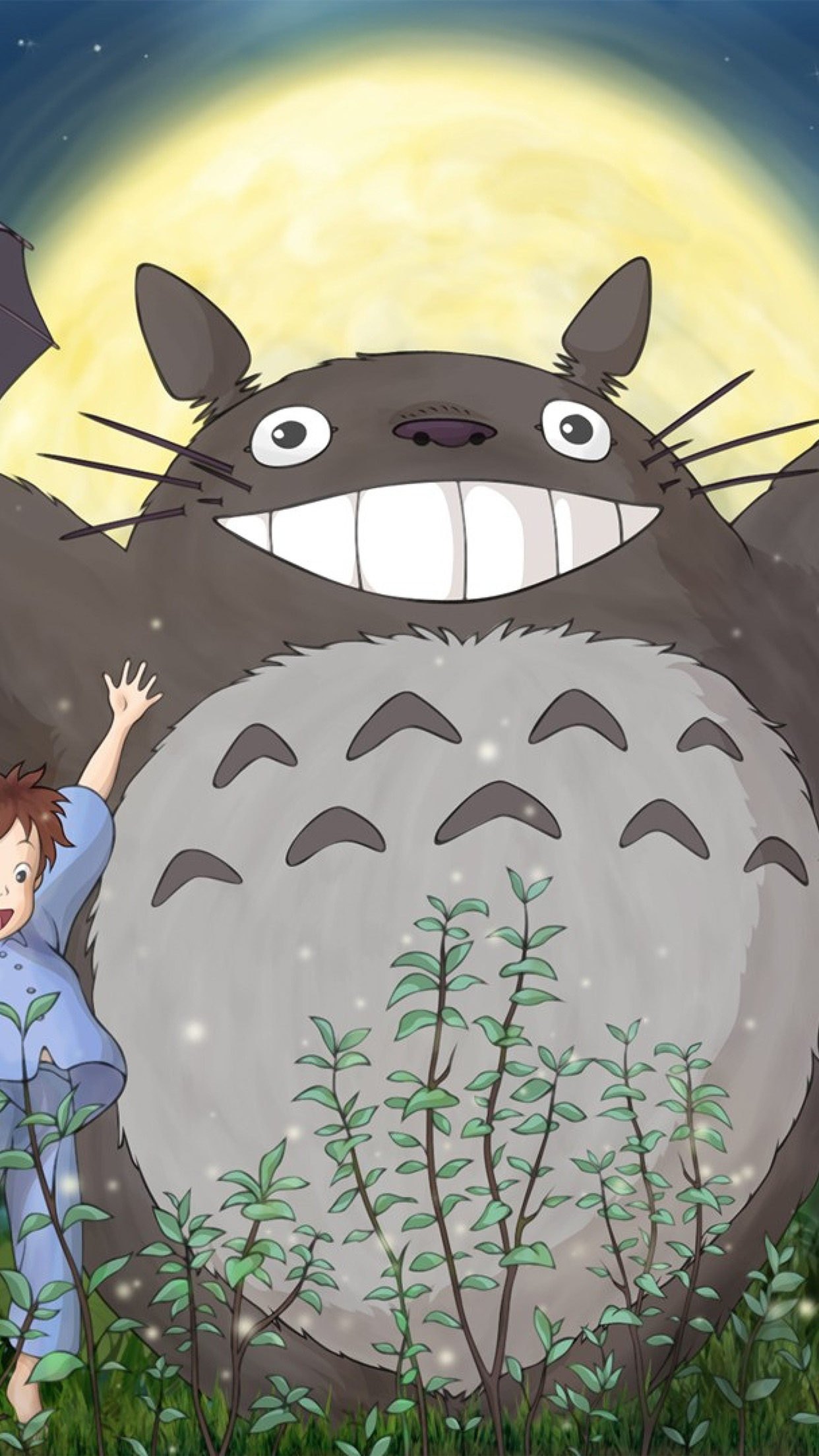 Pixel Forest Wallpaper Cute I Love Papers Au59 Totoro Forest Anime Cute Illustration Art