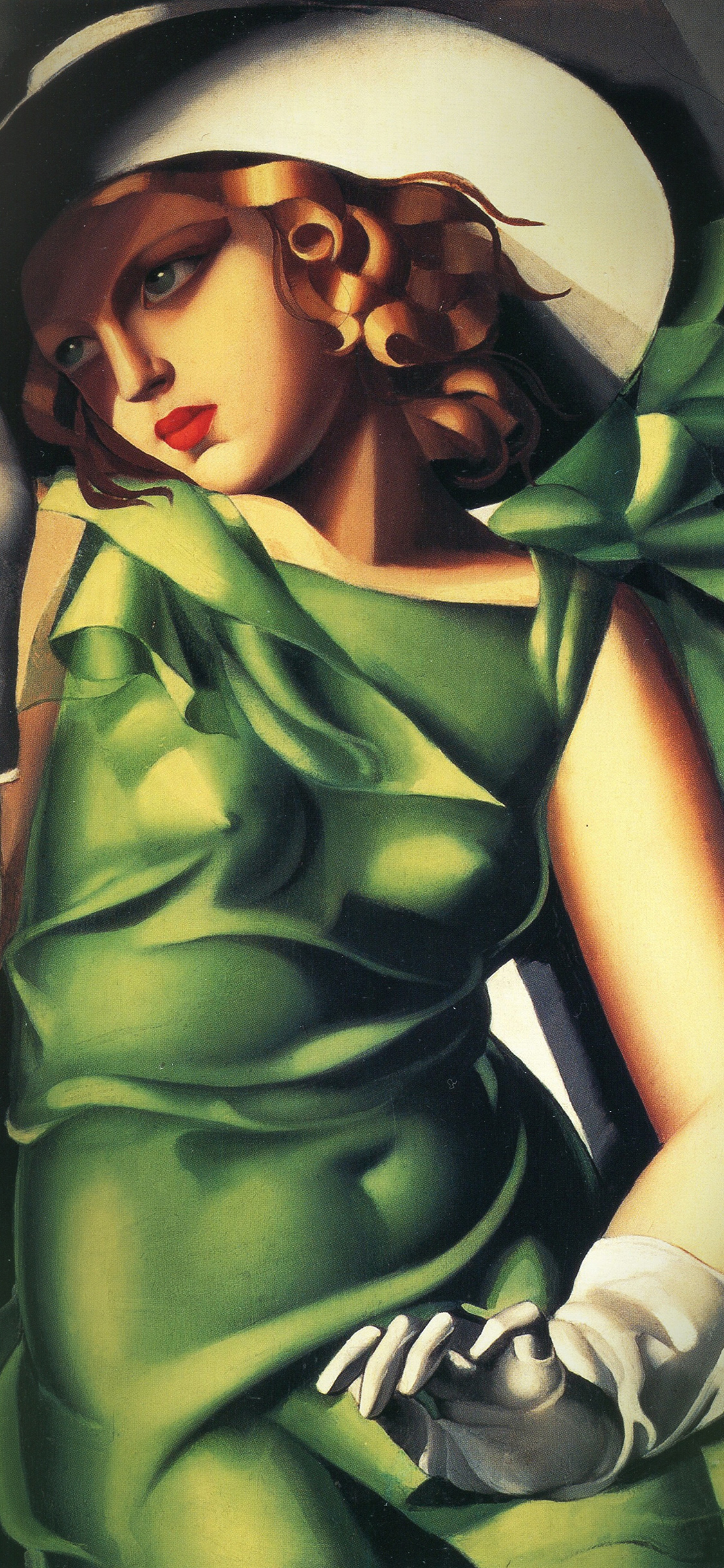 Car Logo Wallpaper Iphone 5 Aw05 Tamara De Lempicka Illustration Art Classic Paint