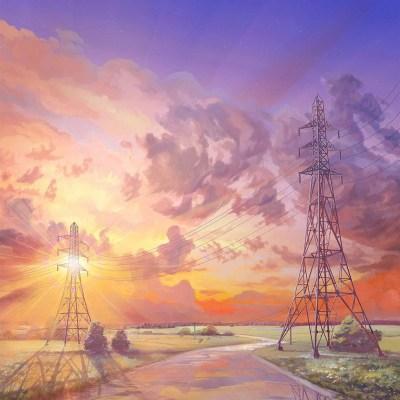 az41-arseniy-chebynkin-sunset-illustration-art-wallpaper